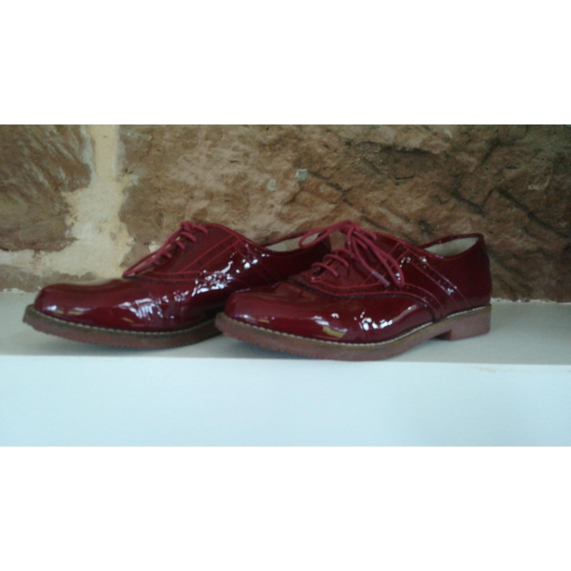 44b1a7351a8 Chaussures à lacets ANDRÉ 37 rouge - 7207915