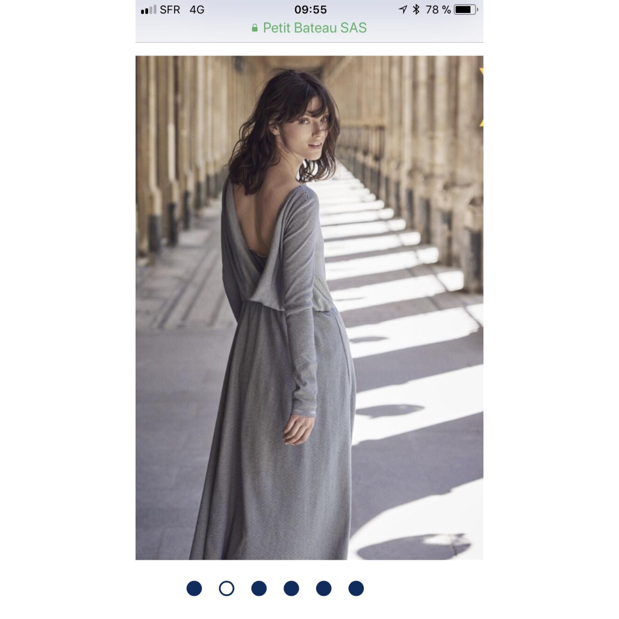 af93d07e253 Robe longue PETIT BATEAU 36 (S