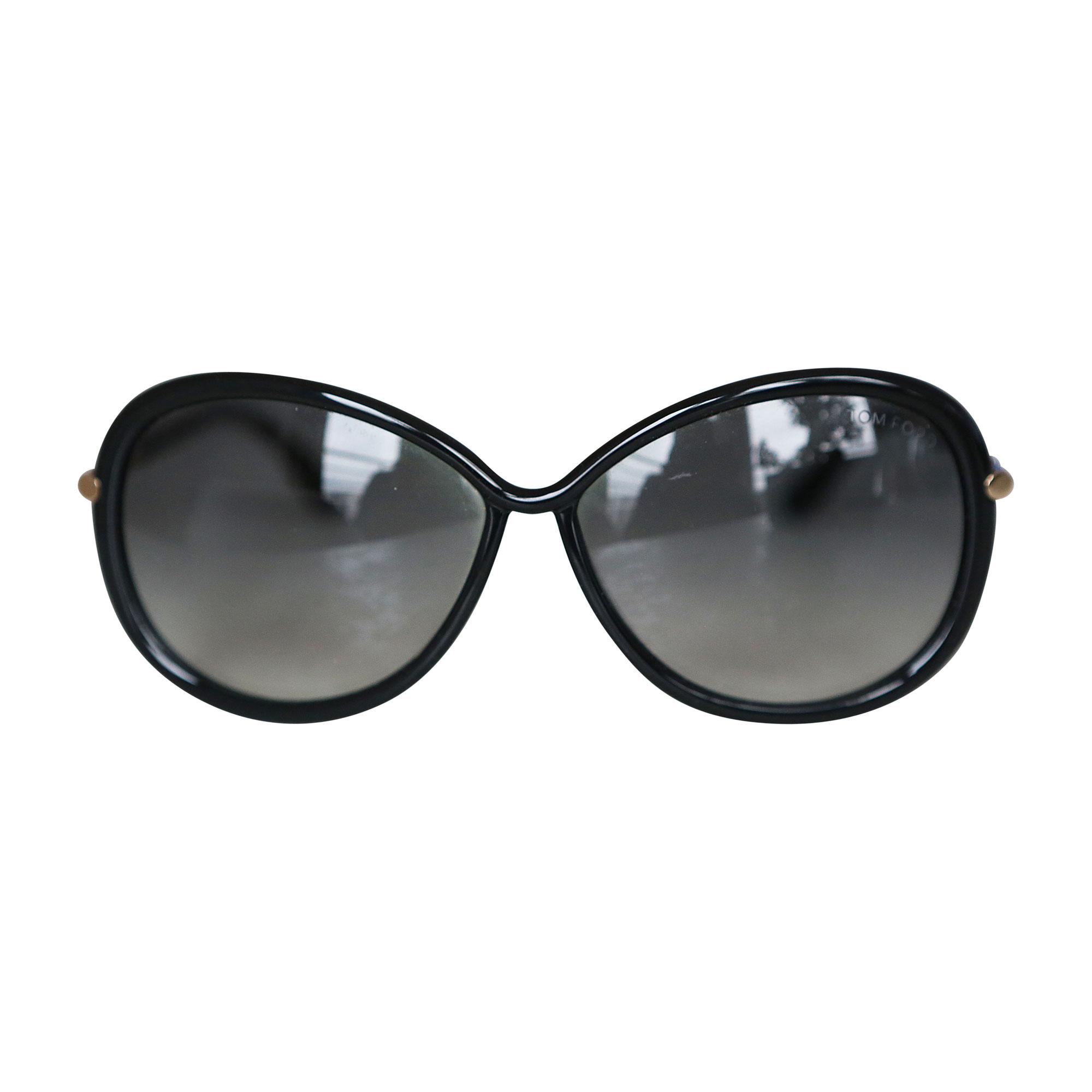 1a2ecba9a8c9a8 ... Lunettes de soleil TOM FORD Noir Tom Ford TF0149 Ramone - T58 - Noir - Roviex  Lens ...