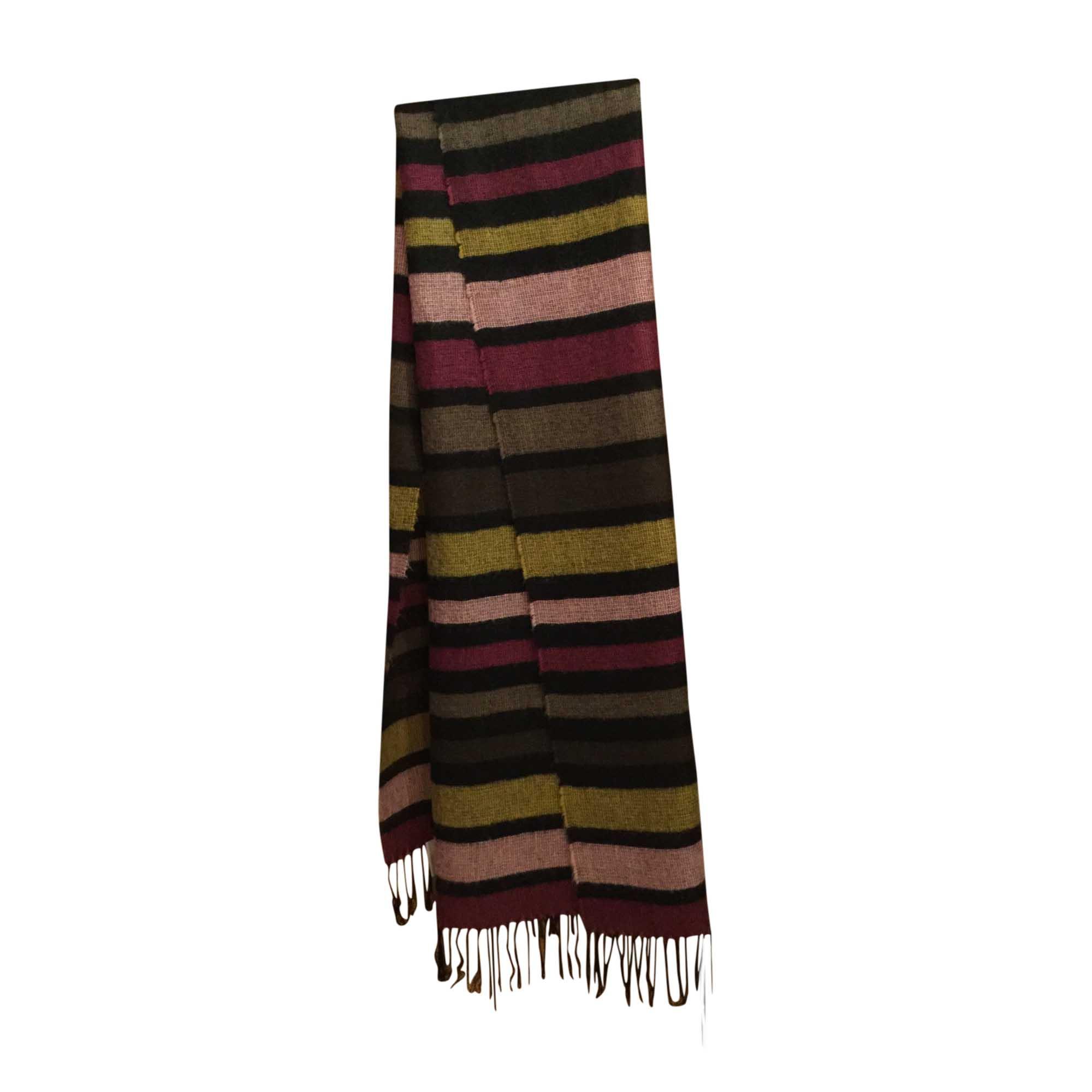 Etole SONIA RYKIEL Rayures multicolores