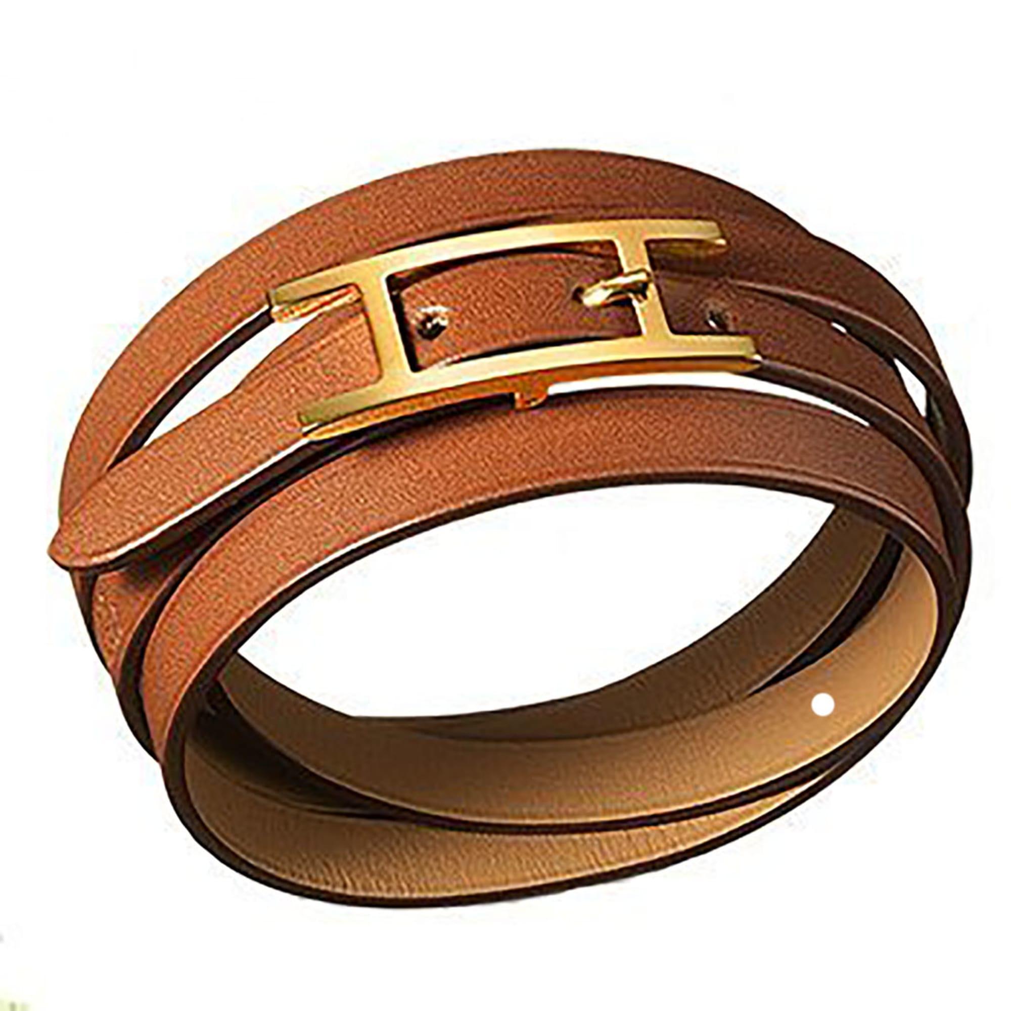 fc20a79b0ee4 Bracelet HERMÈS behapi beige vendu par Gvilla - 7241714