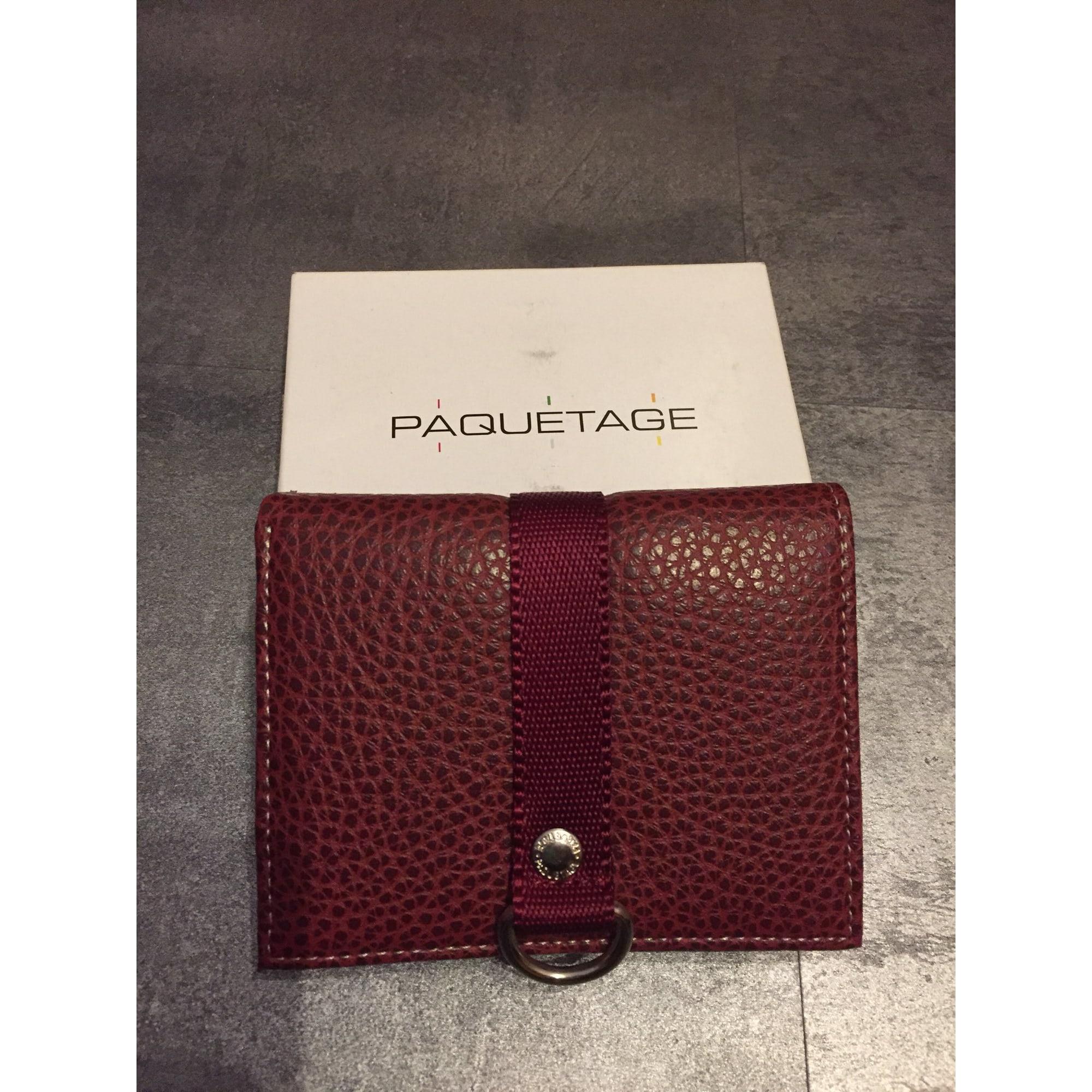 6ef8d1d32c Portefeuille PAQUETAGE rouge vendu par 2241403 - 7241800