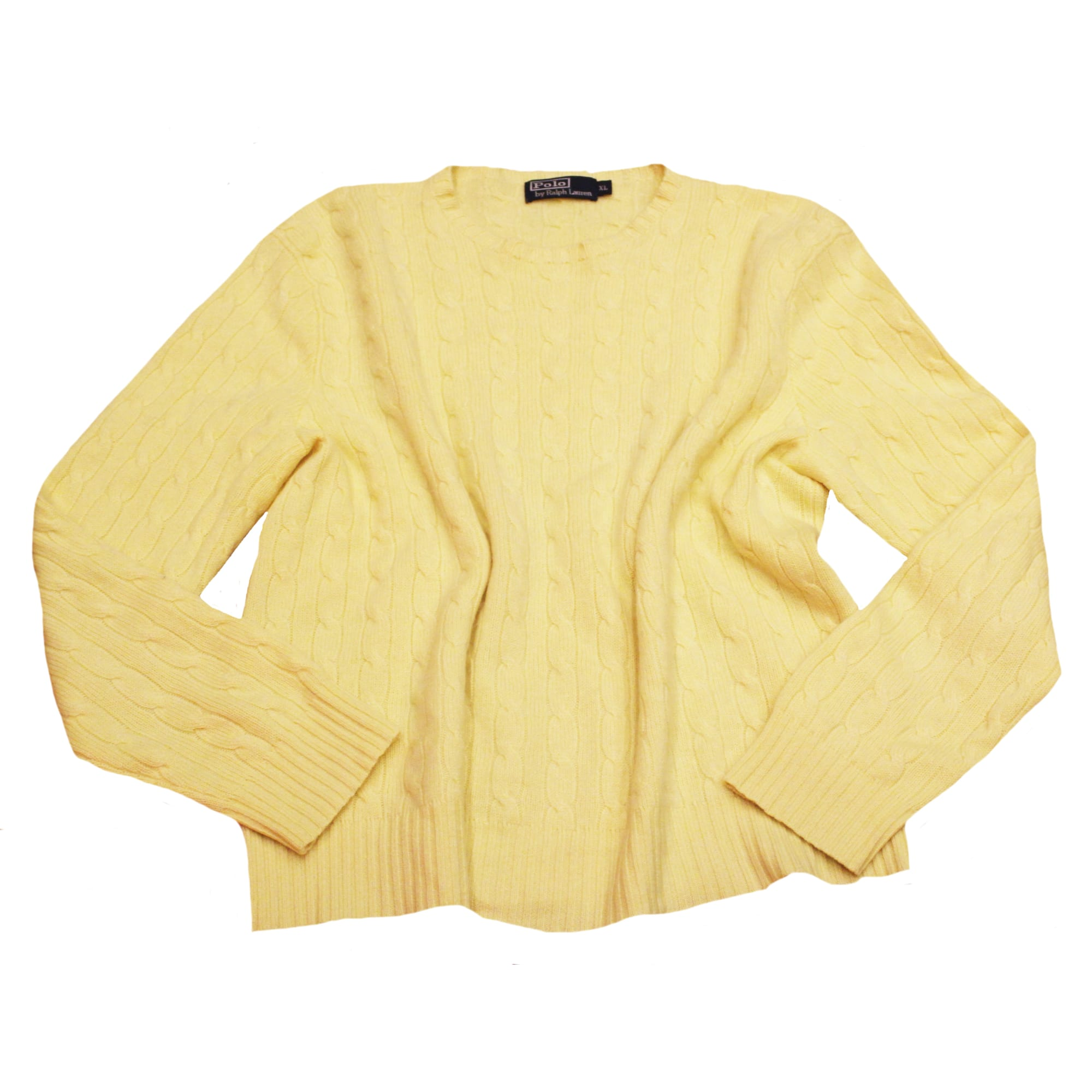 Pull RALPH LAUREN 44 (XL XXL, T5) jaune - 7261129 4052ab01ea2