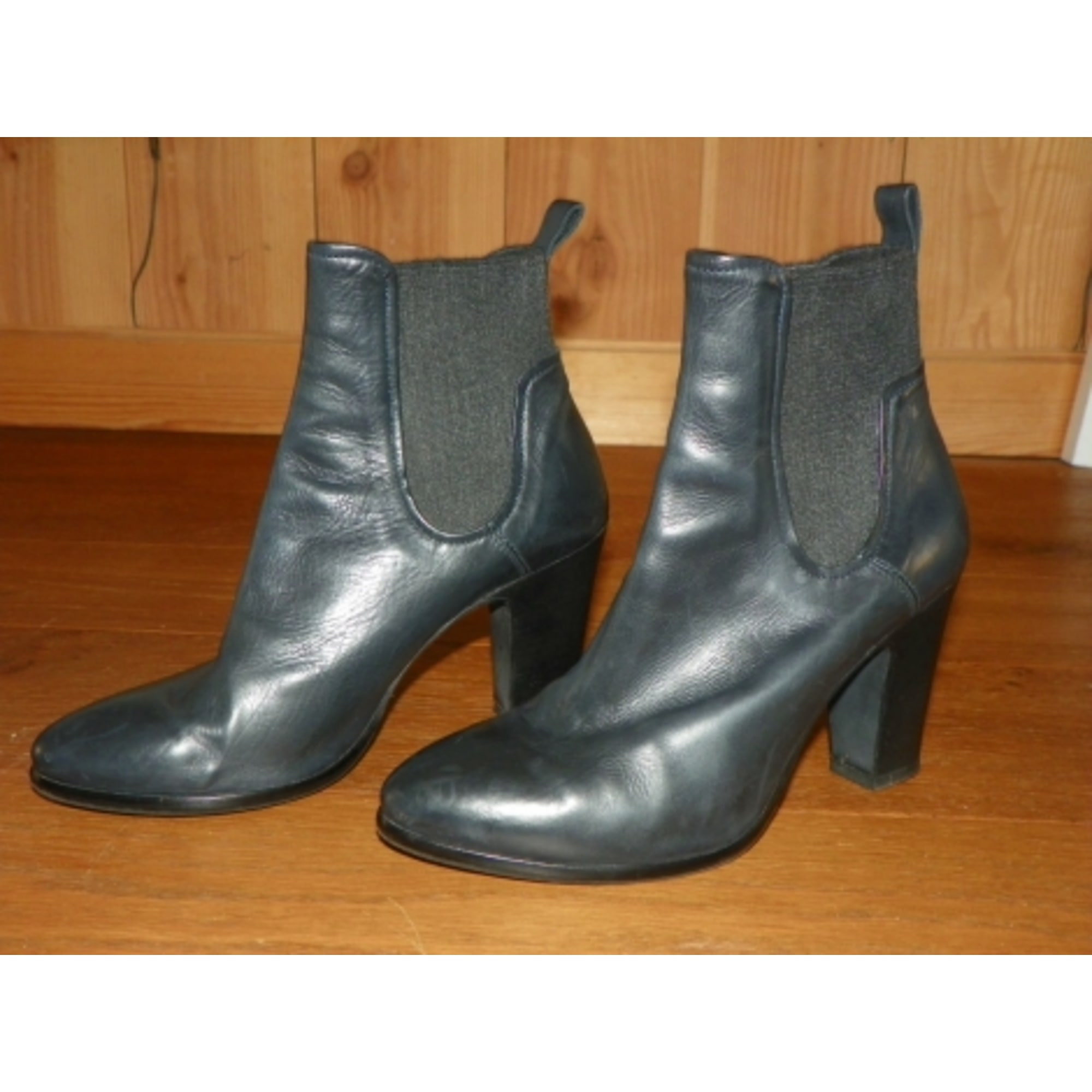 8295438fe4669 High Heel Ankle Boots VERO CUOIO 38 gray - 7267765