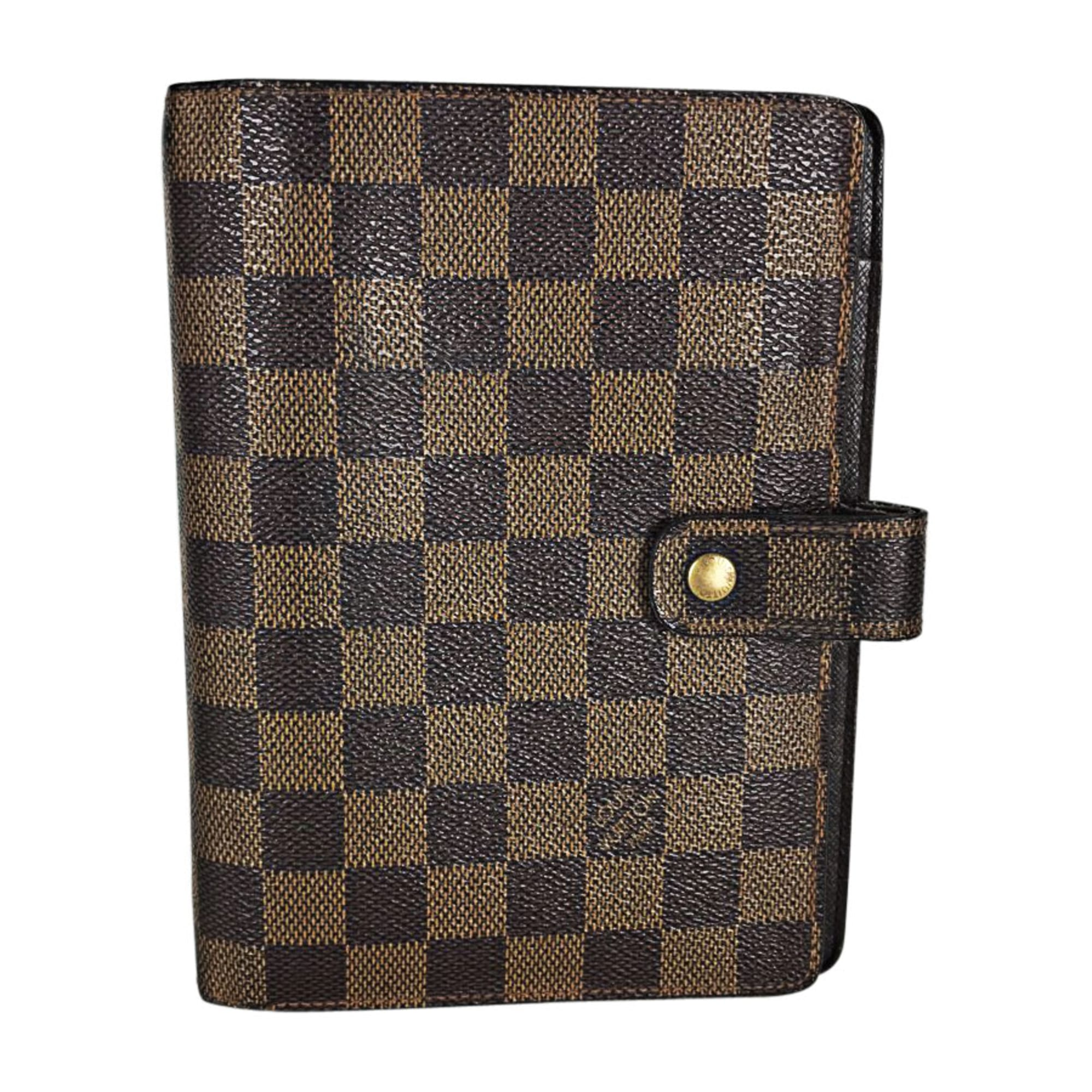 Sac pochette en cuir LOUIS VUITTON marron - 7271580 bca47e62bc7