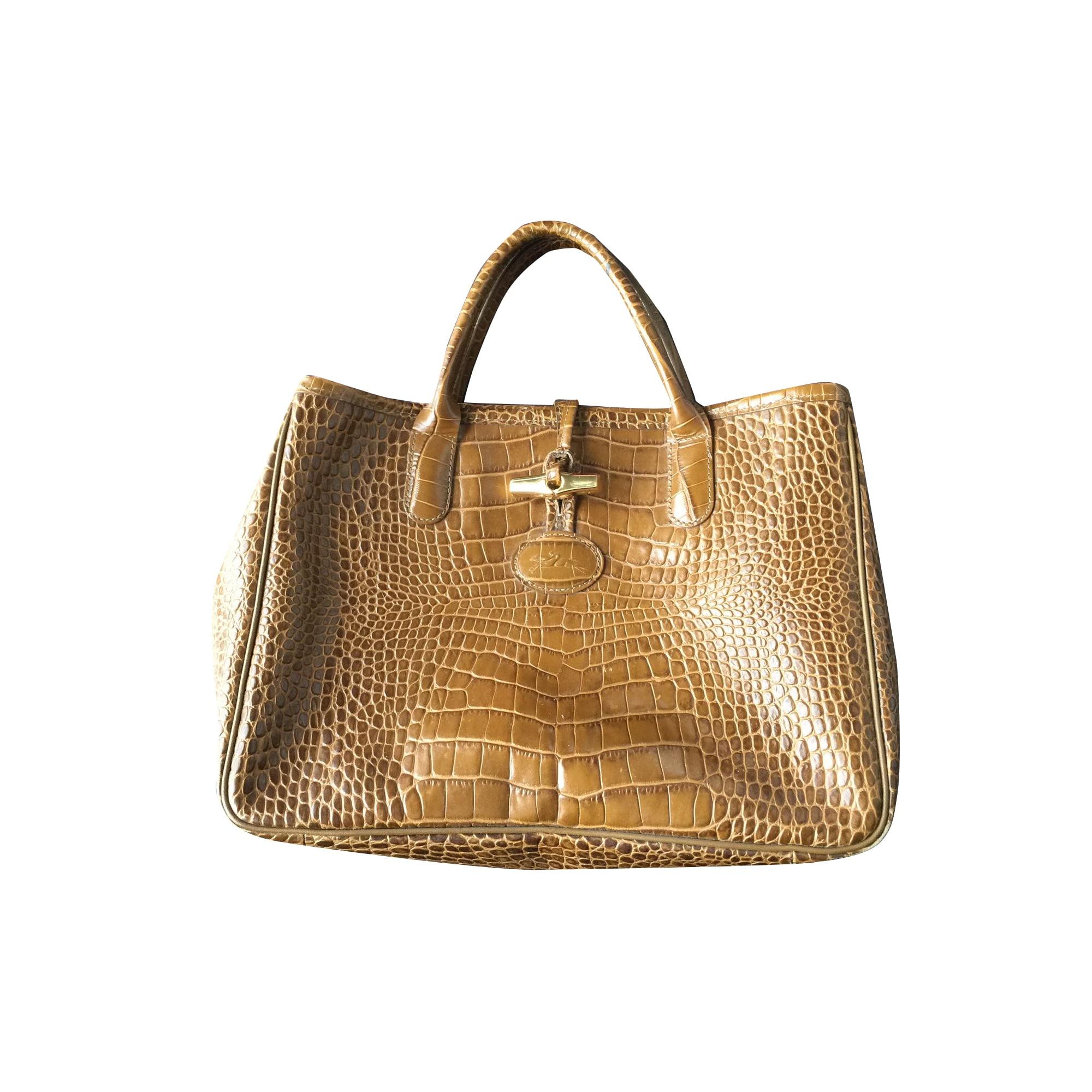 vuoto venduta Dressing De pelle Borsa marrone in sotto Longchamp aPwIYq