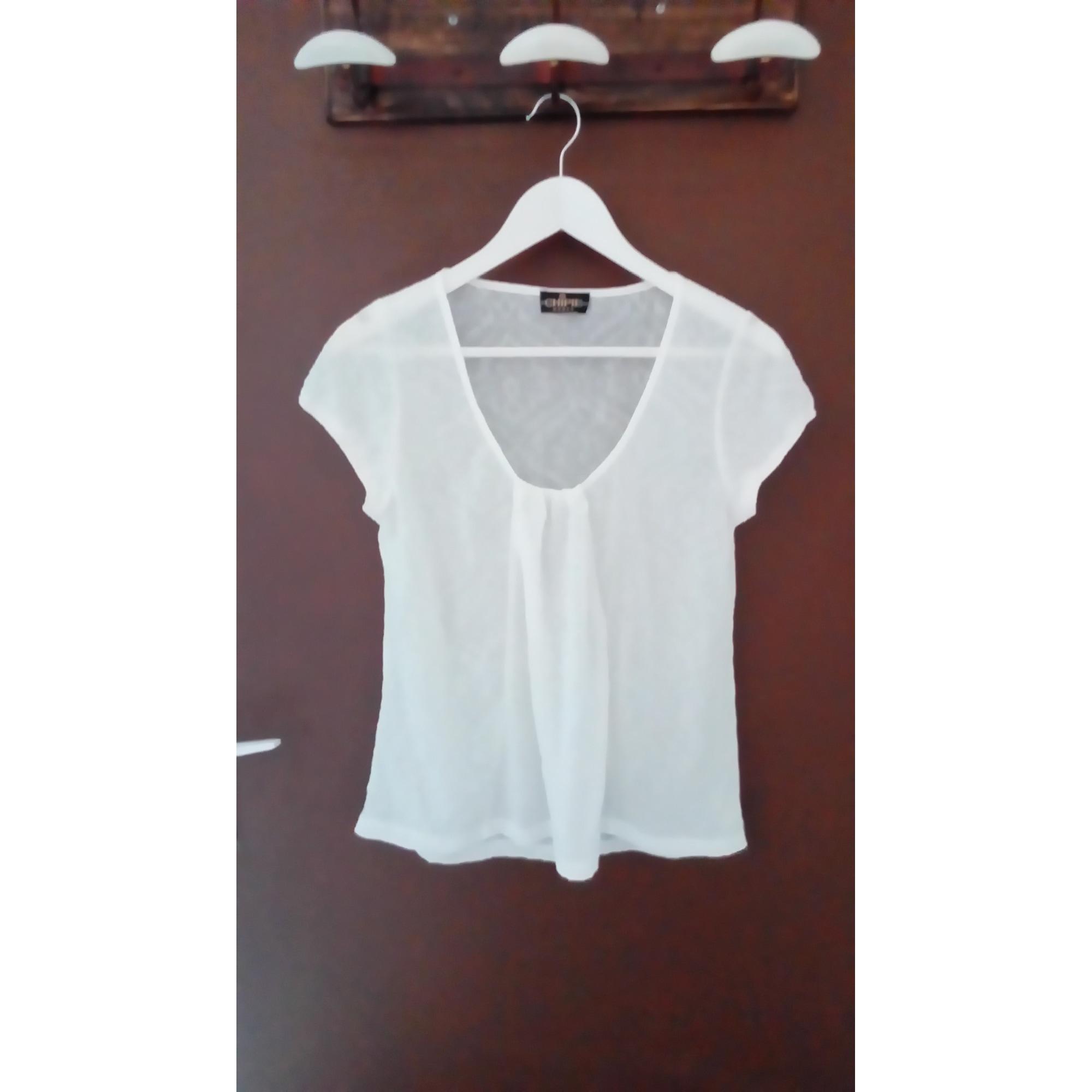 Top, tee-shirt CHIPIE Blanc, blanc cassé, écru