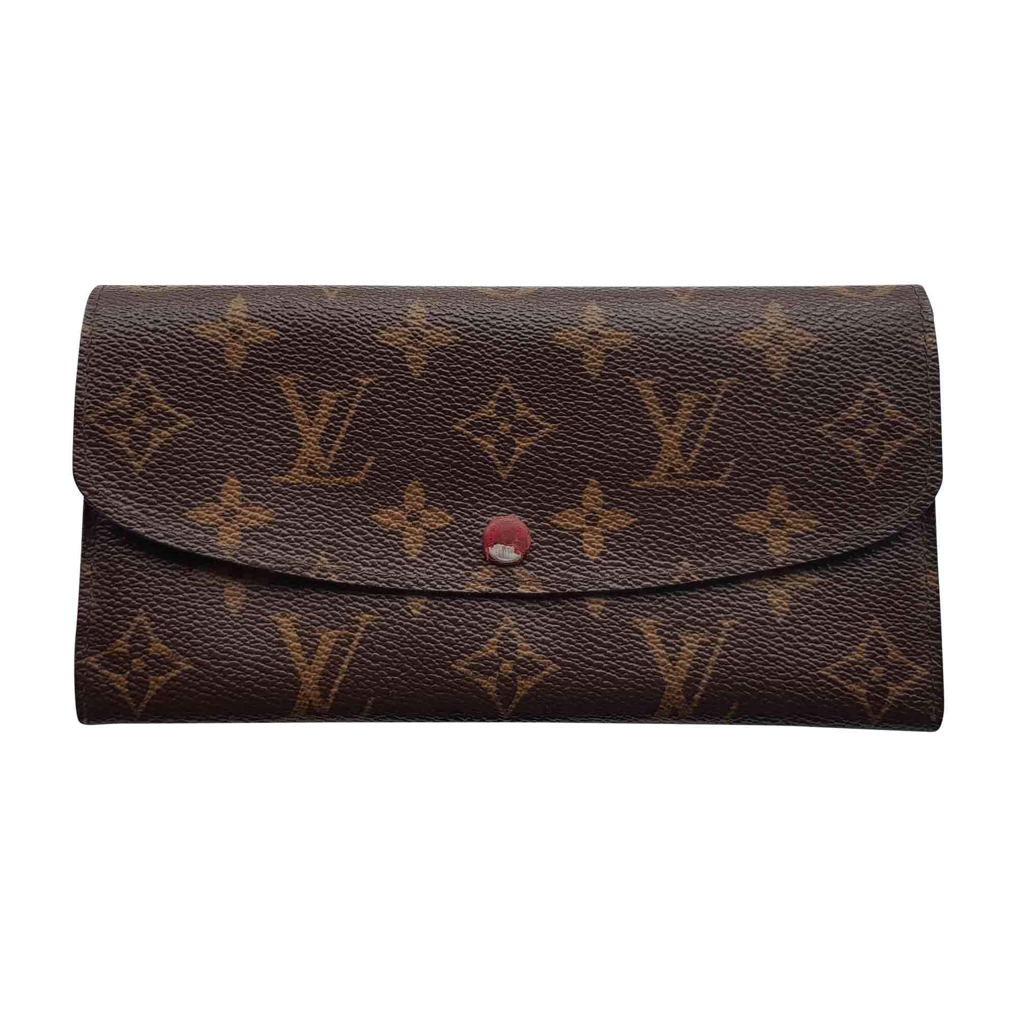Portefeuille LOUIS VUITTON emilie monogram vendu par Destockdress ... c82b86ad6eb