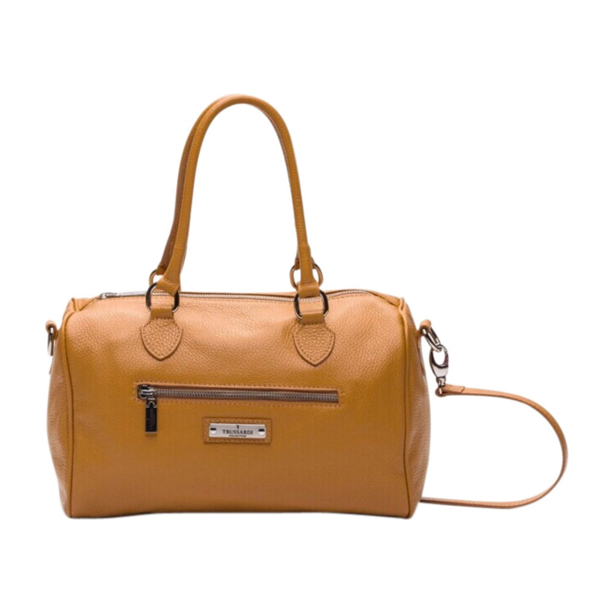 026f12a312 Sac en bandoulière en cuir TRUSSARDI beige - 7282782