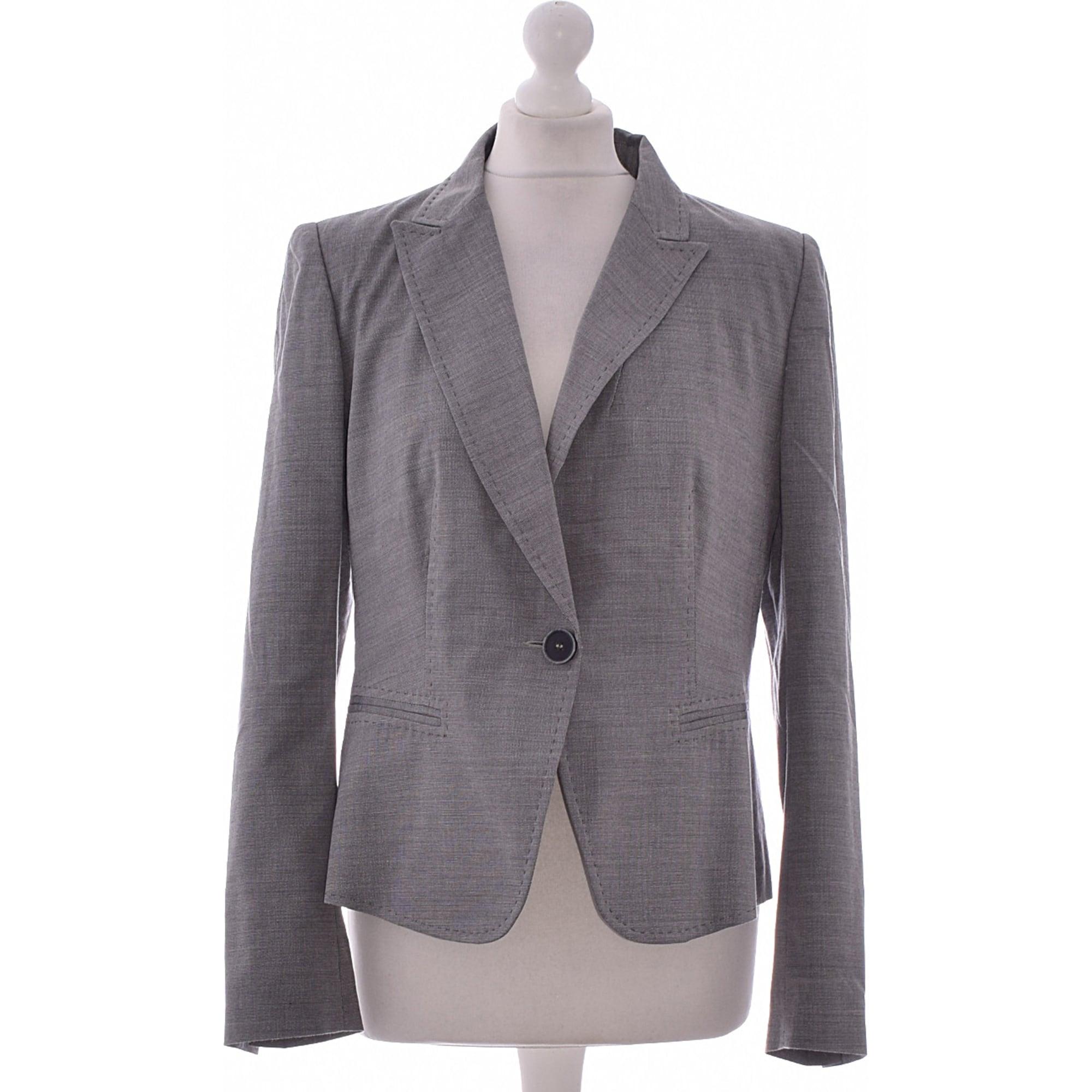 Blazer, veste tailleur CAROLL 42 (L XL, T4) gris - 7286073 1f34544fd68
