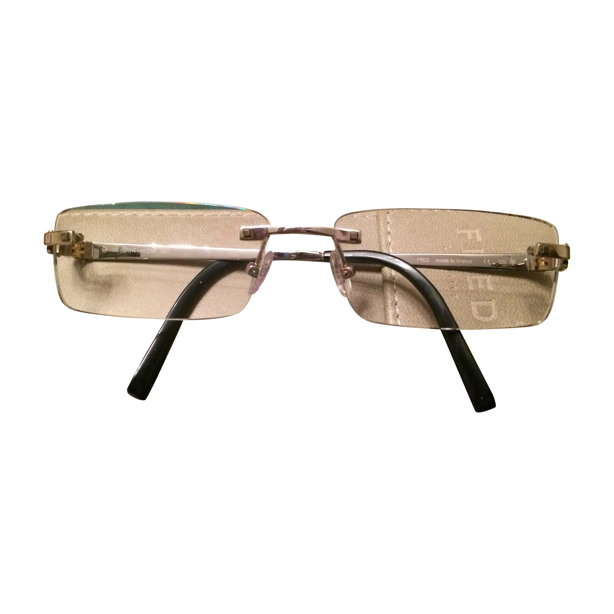 289cac8580ad2a Monture de lunettes FRED argenté vendu par Lucie3647 - 7292087