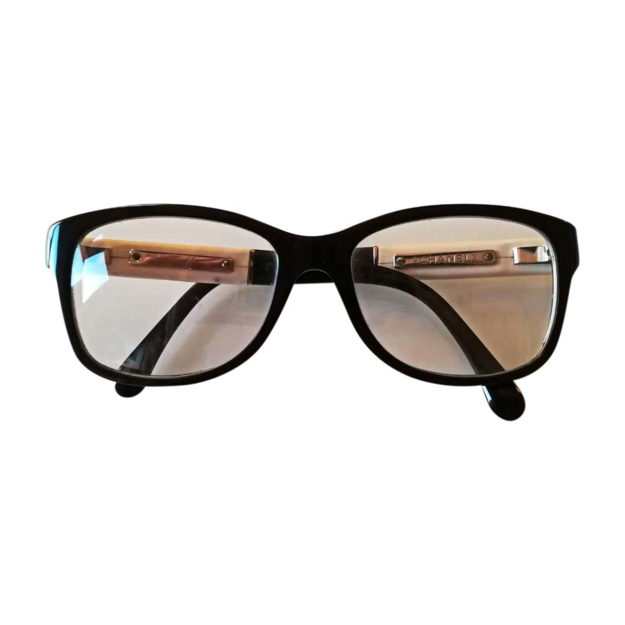 de65129dcca390 Monture de lunettes CHANEL noir - 7293273