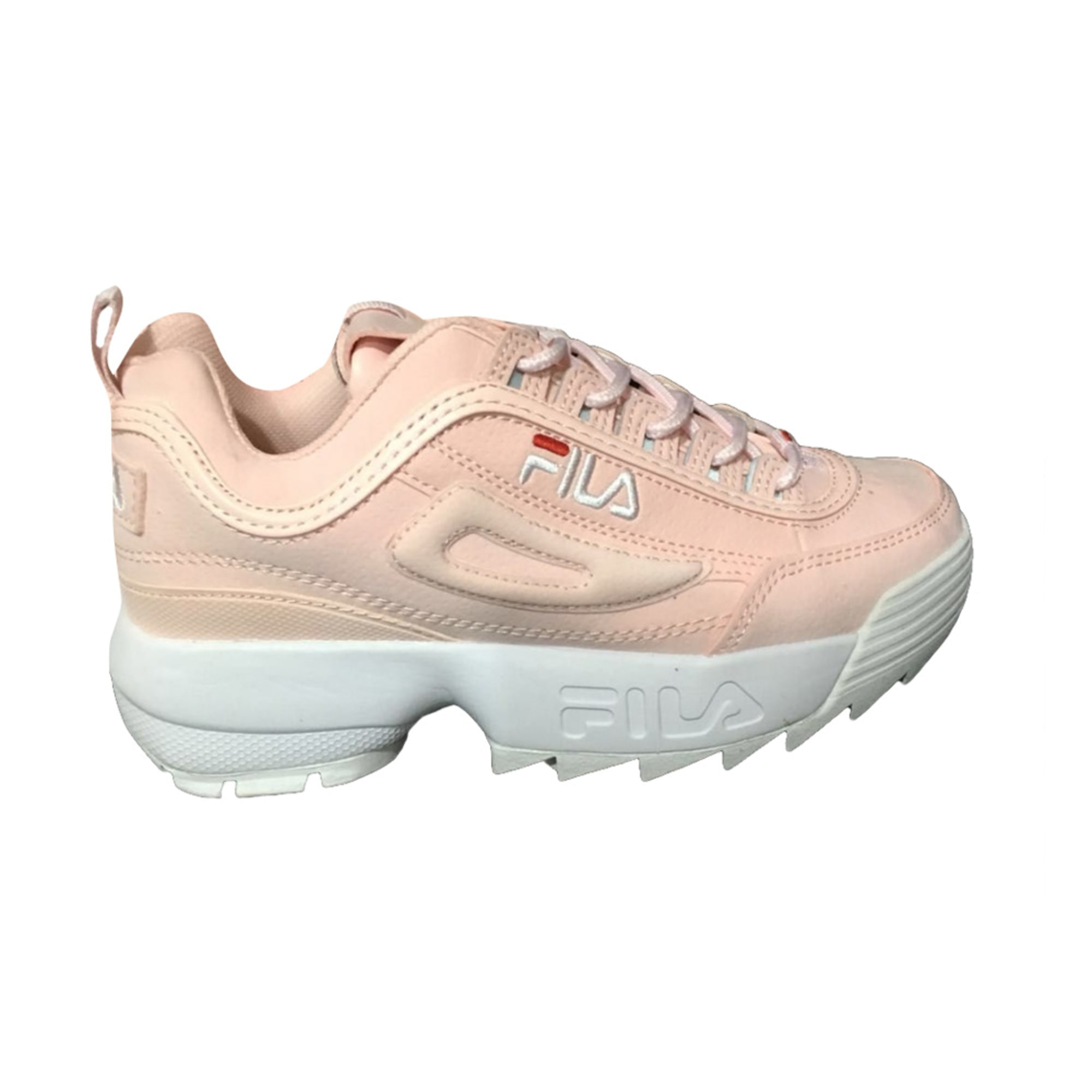 Des Chaussures Chaussures Rose Fila Avec IfvYb76gy