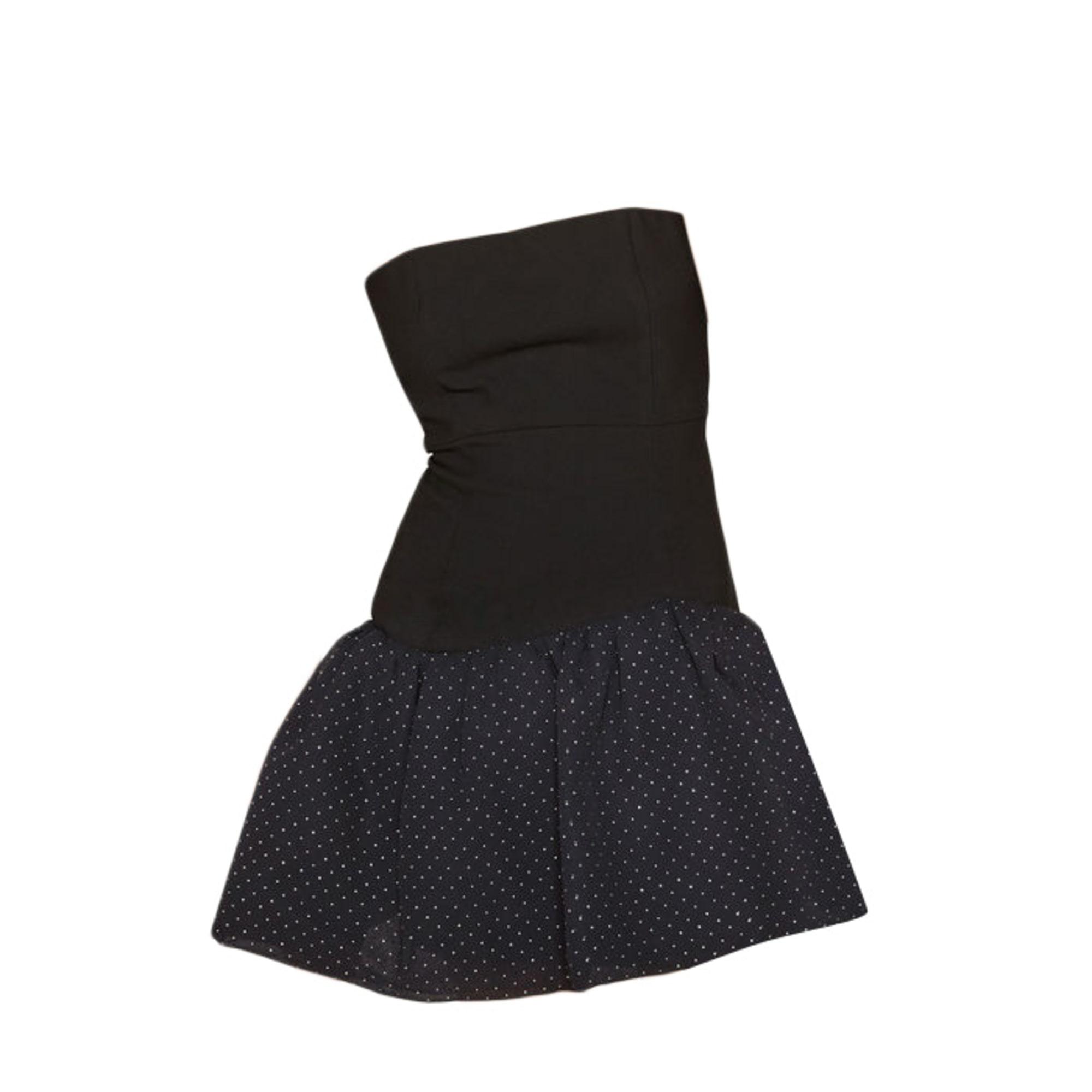 Robe bustier MAJE 38 (M, T2) noir - 7298009 3deb54510ef