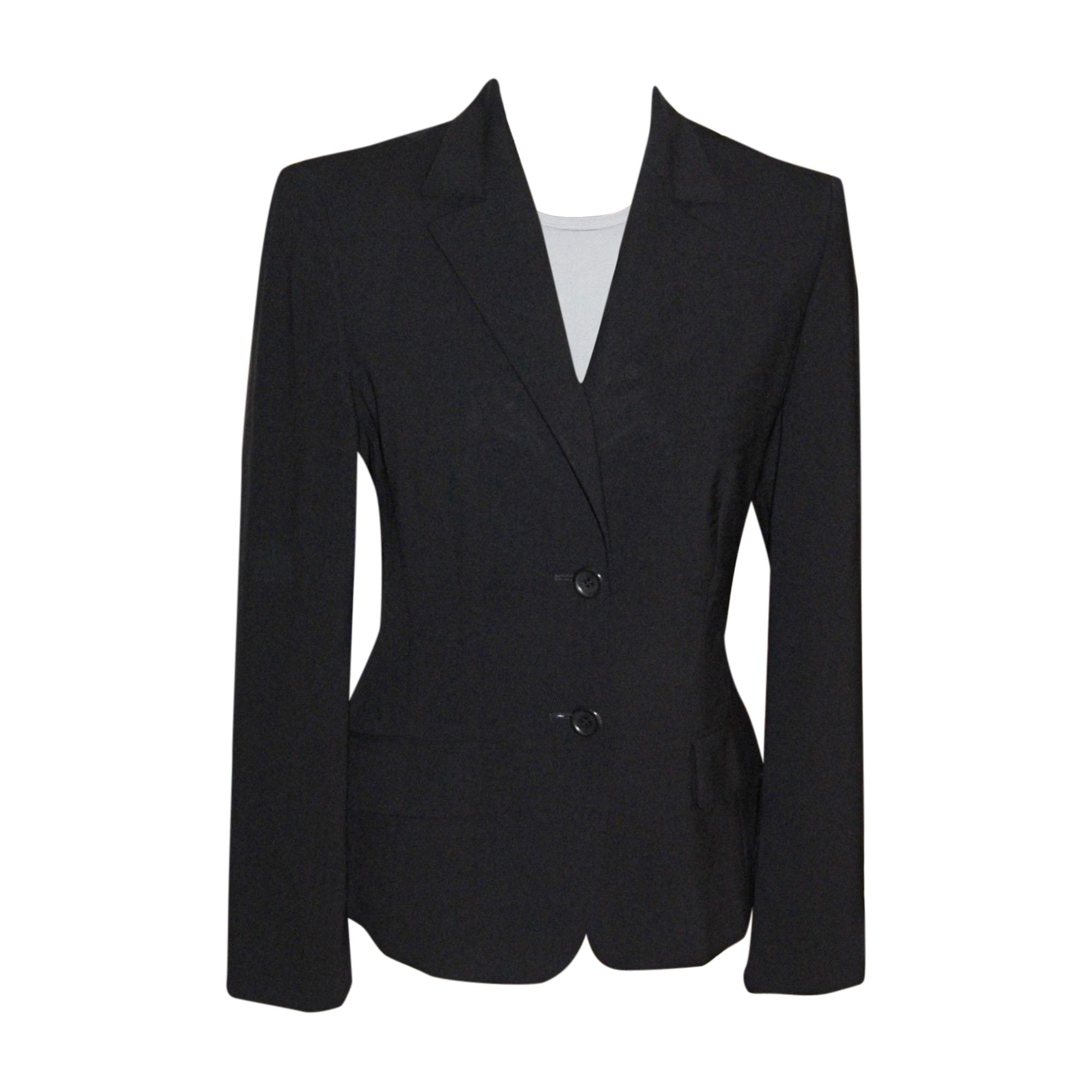 blazer veste tailleur hugo boss 38 m t2 noir 7300917. Black Bedroom Furniture Sets. Home Design Ideas