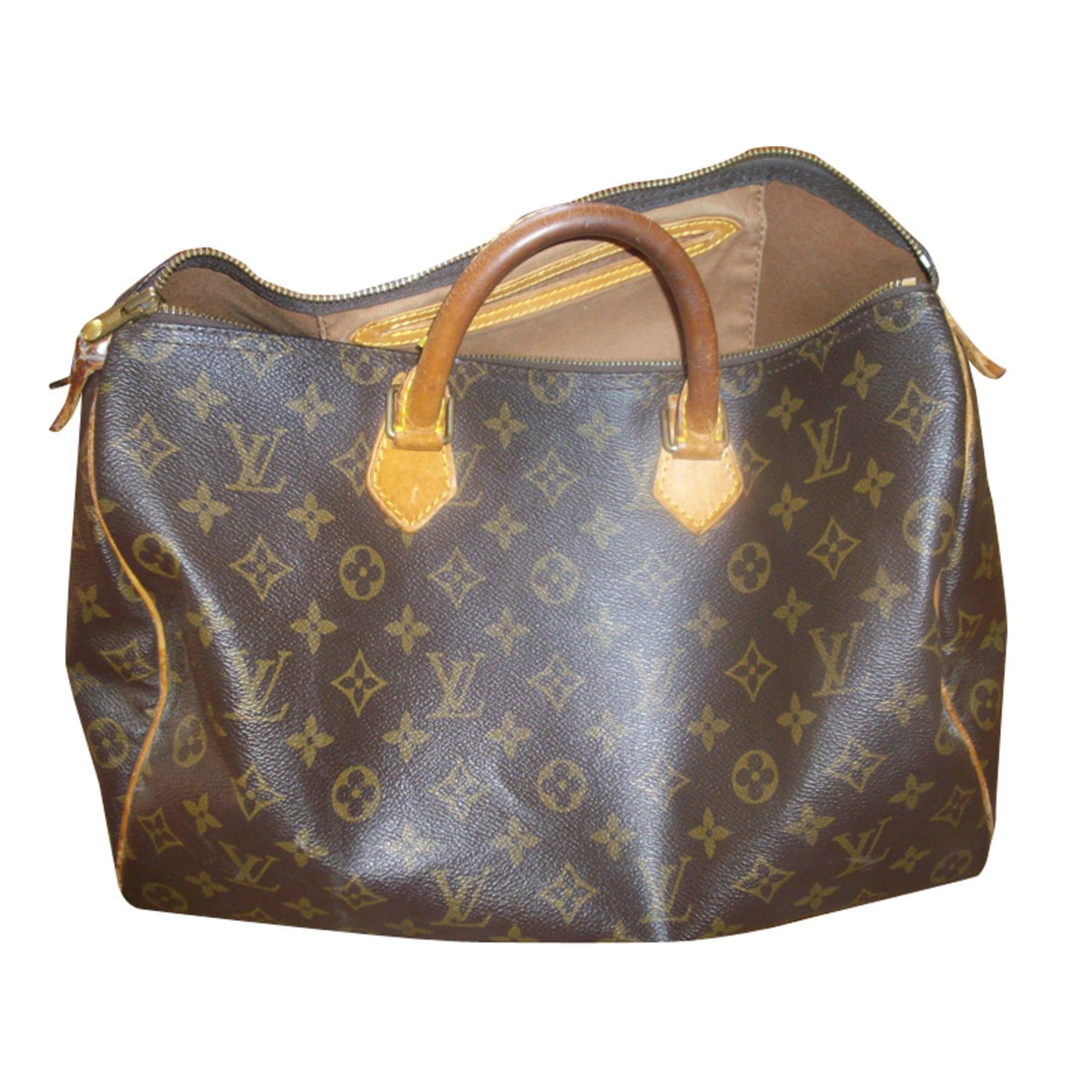 173d6d87526b Sac à main en cuir LOUIS VUITTON marron vendu par Axelle 317779 - 730206