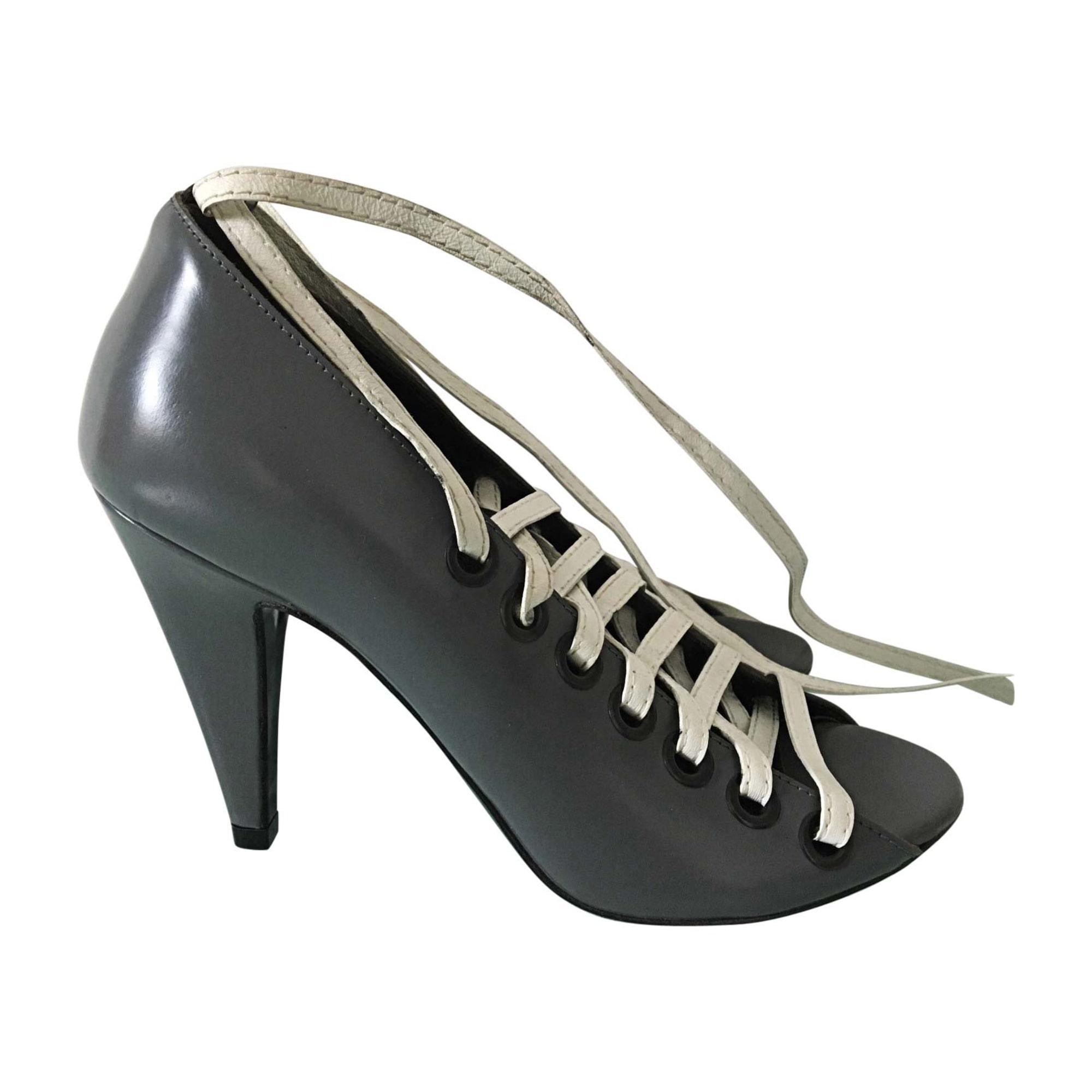 Balenciaga Lacets 7303735 À Chaussures 35 Gris YHqvEn7wfx
