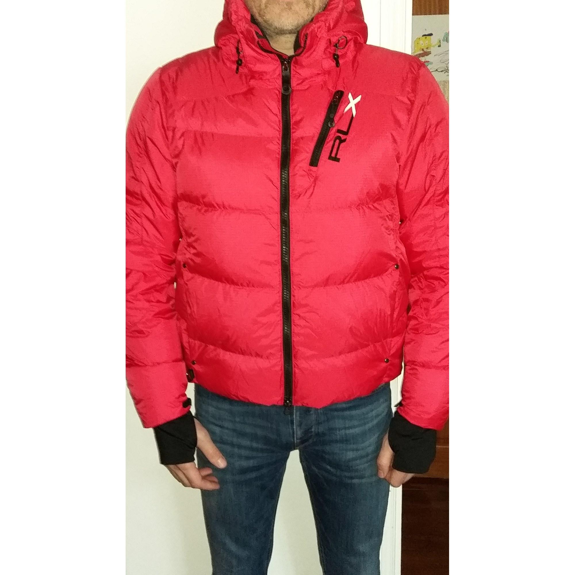 a40c4440c38 Blouson de ski RALPH LAUREN RLX 52 (L) rouge - 7304890