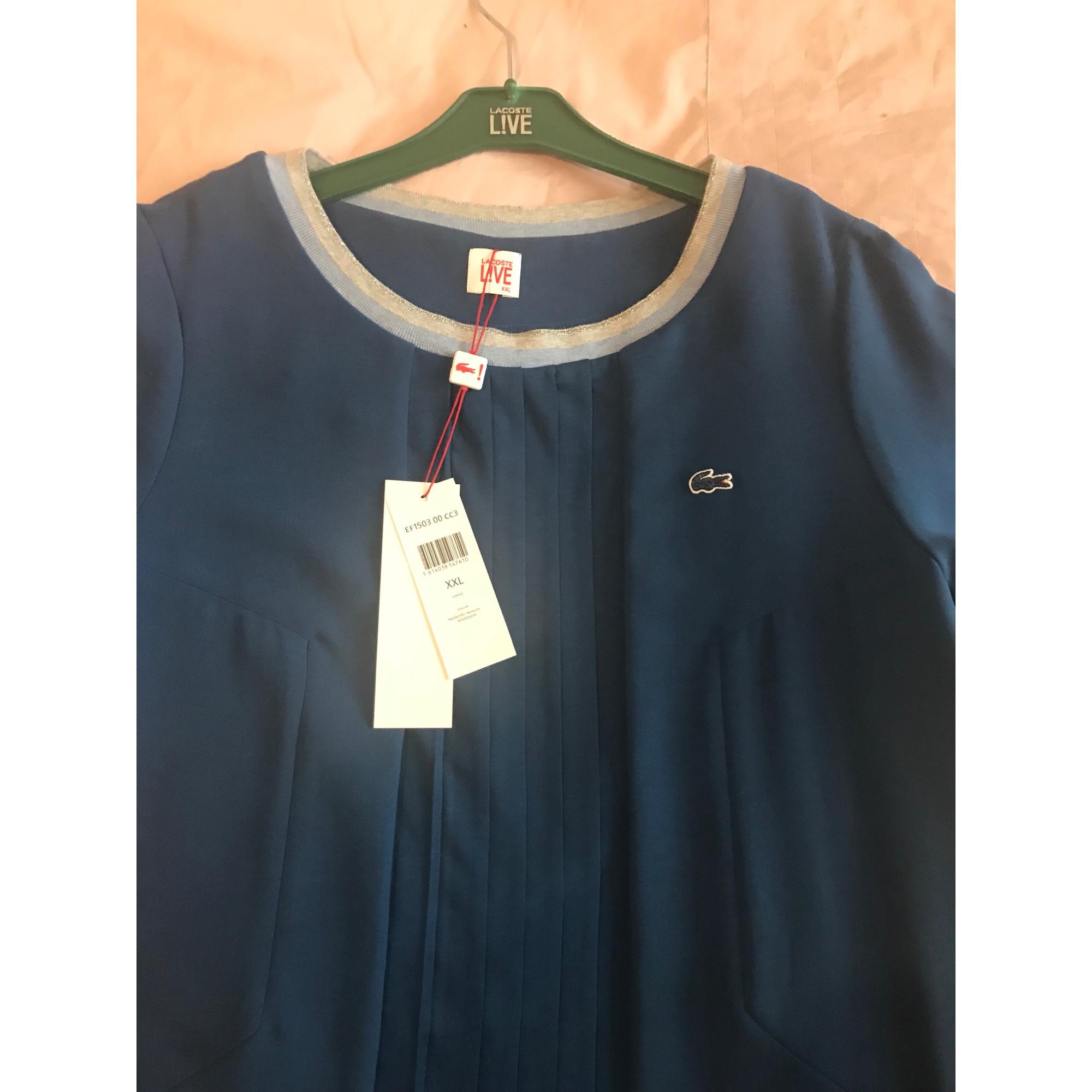 e32cf09c5d Robe tunique LACOSTE 44 (XL/XXL, T5) bleu vendu par Ioana 43 - 7305629