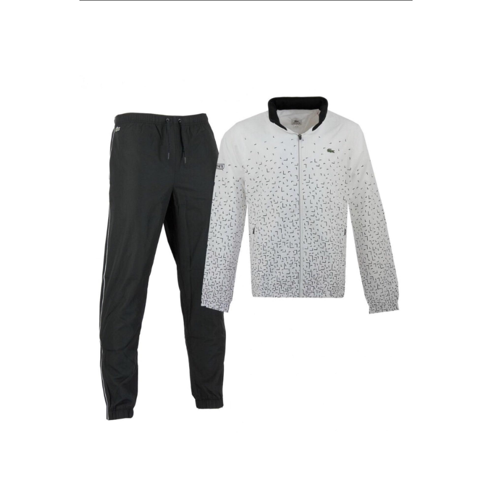 f3164e079093 Ensemble jogging LACOSTE Autre noir/blanc vendu par Le vide dressing ...