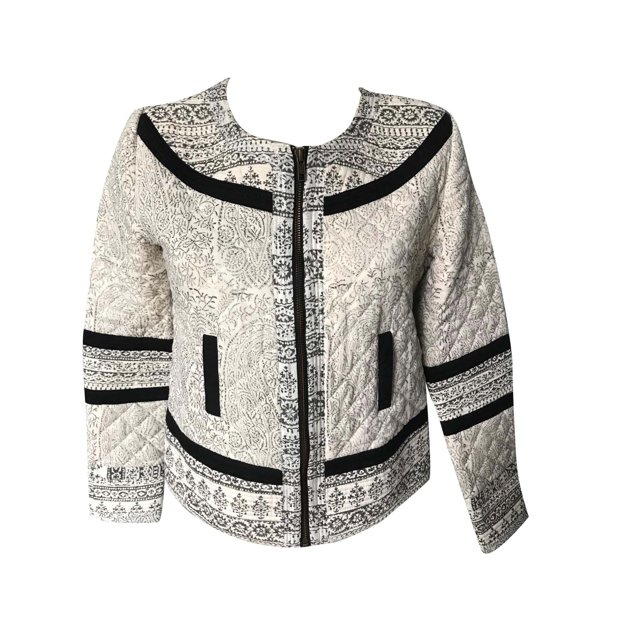 Jacket SÉZANE White, off-white, ecru