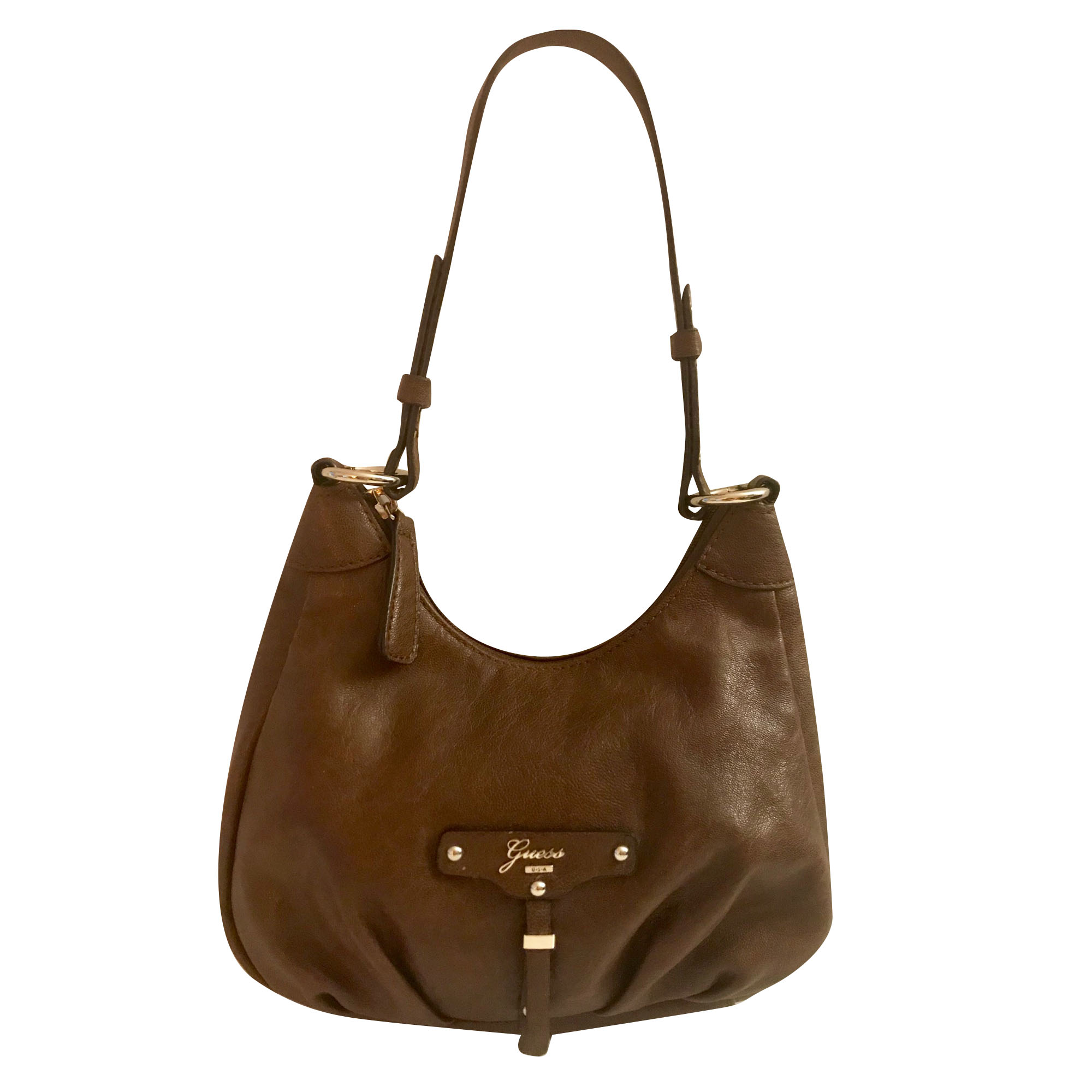 En Marron Cuir Guess Main Sac À 7317560 iXkZuPO