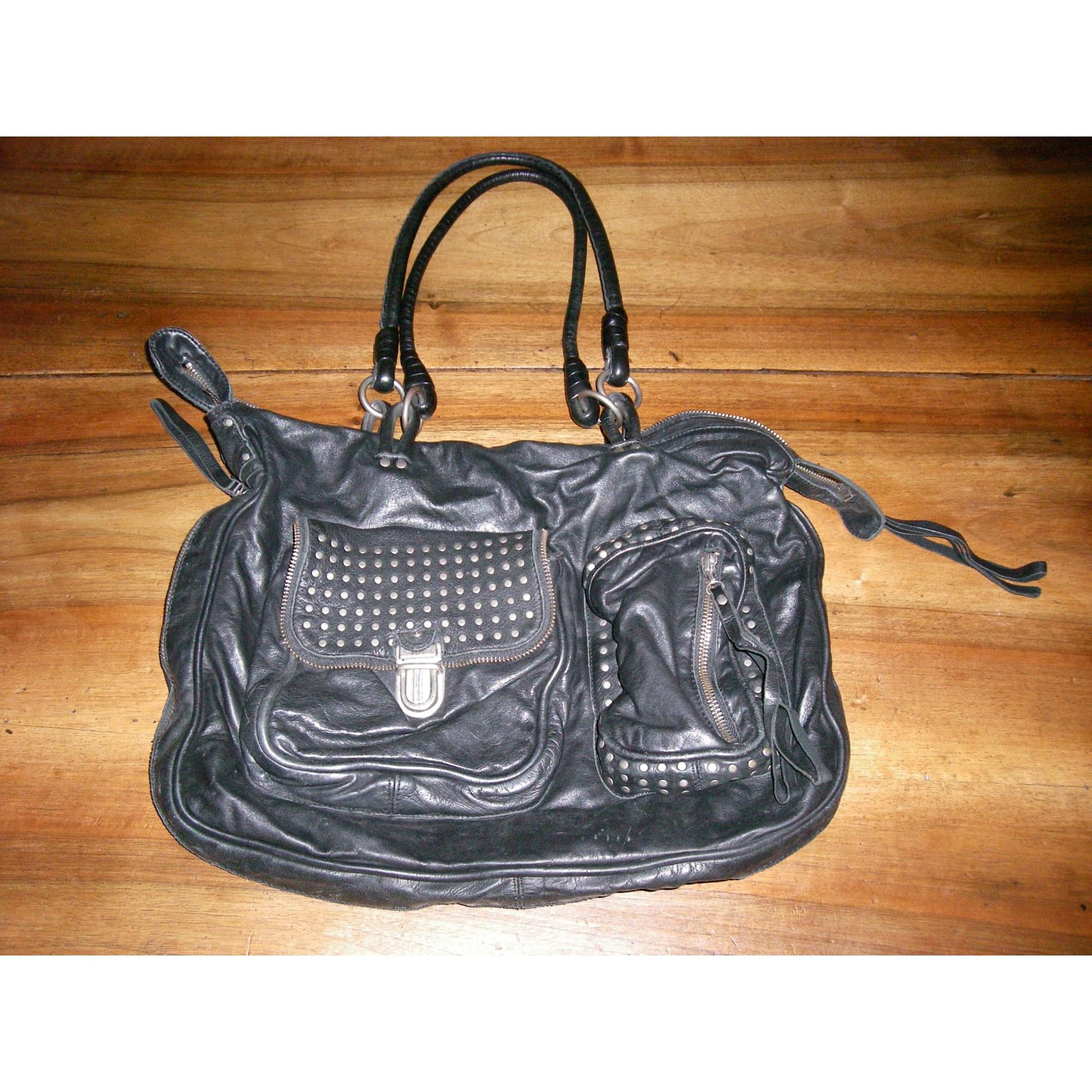 cabd1088f3 Sac à main en cuir IKKS noir vendu par Miss-candy11792 - 731849