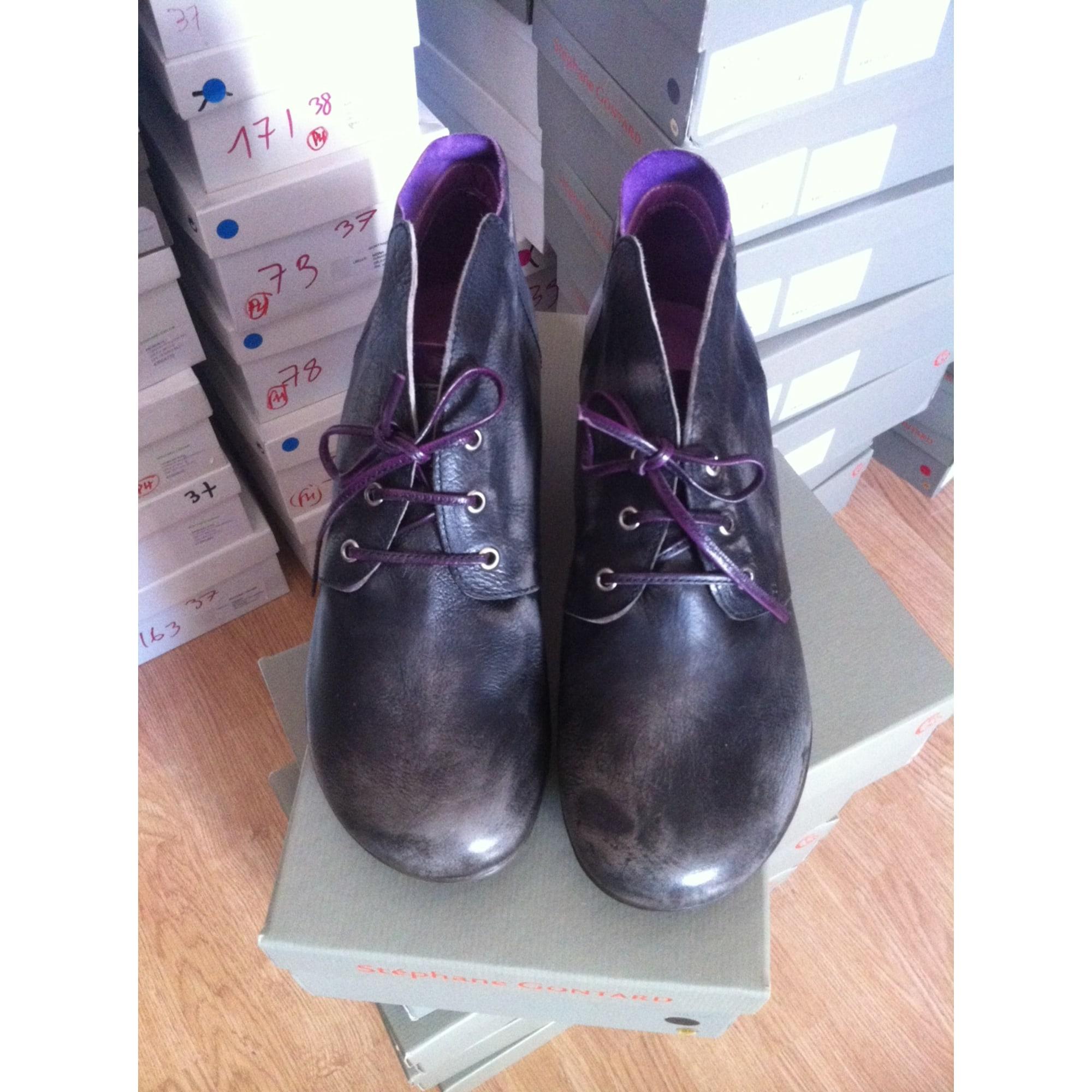 Bottines & low boots à talons STÉPHANE GONTARD Noir