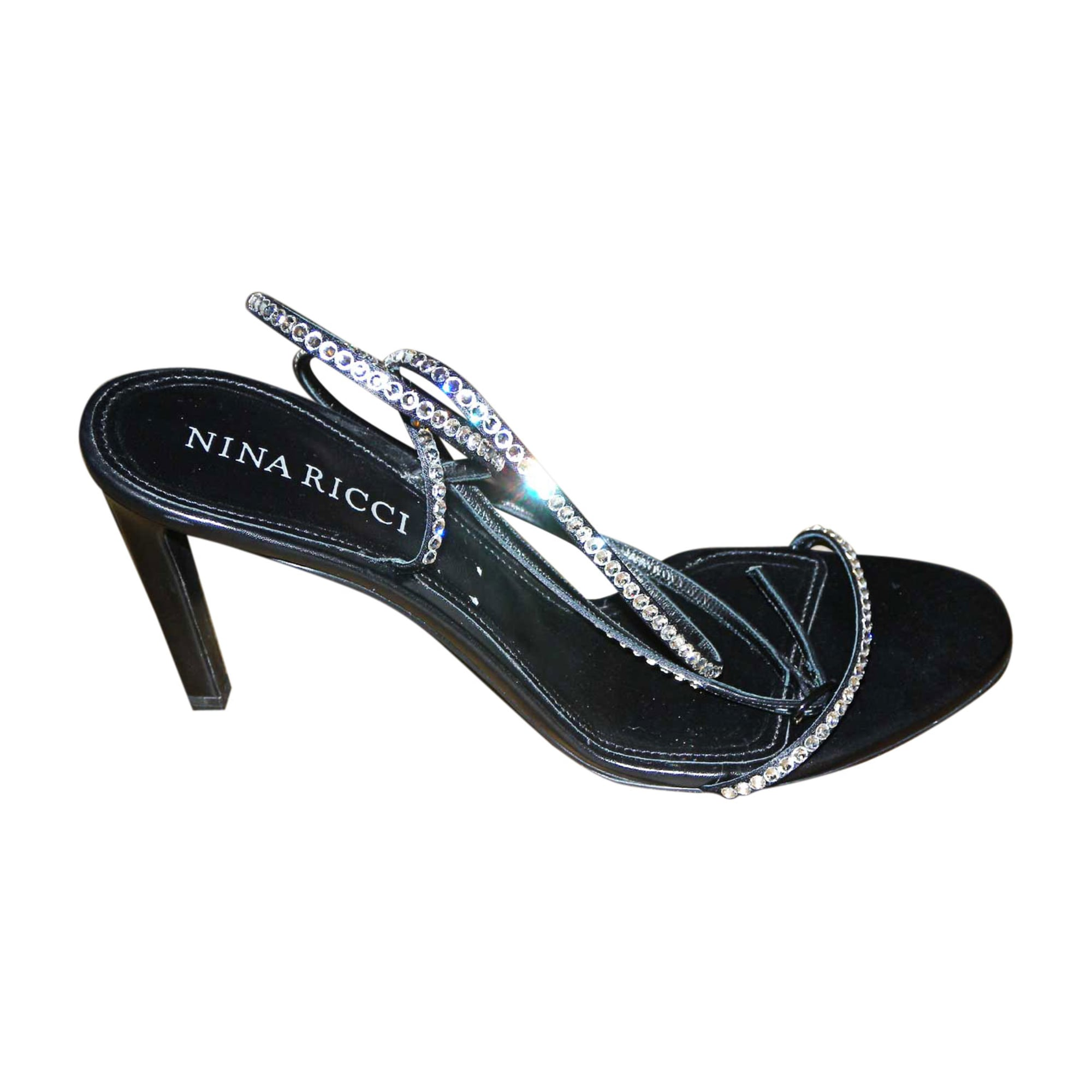 Sandales à talons NINA RICCI Noir