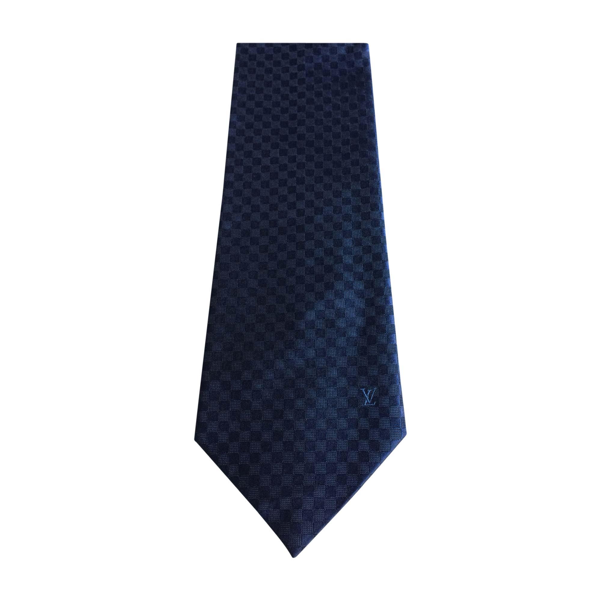 0958bcd29d8a8 Krawatte LOUIS VUITTON blau vendu par Marsur - 7327746