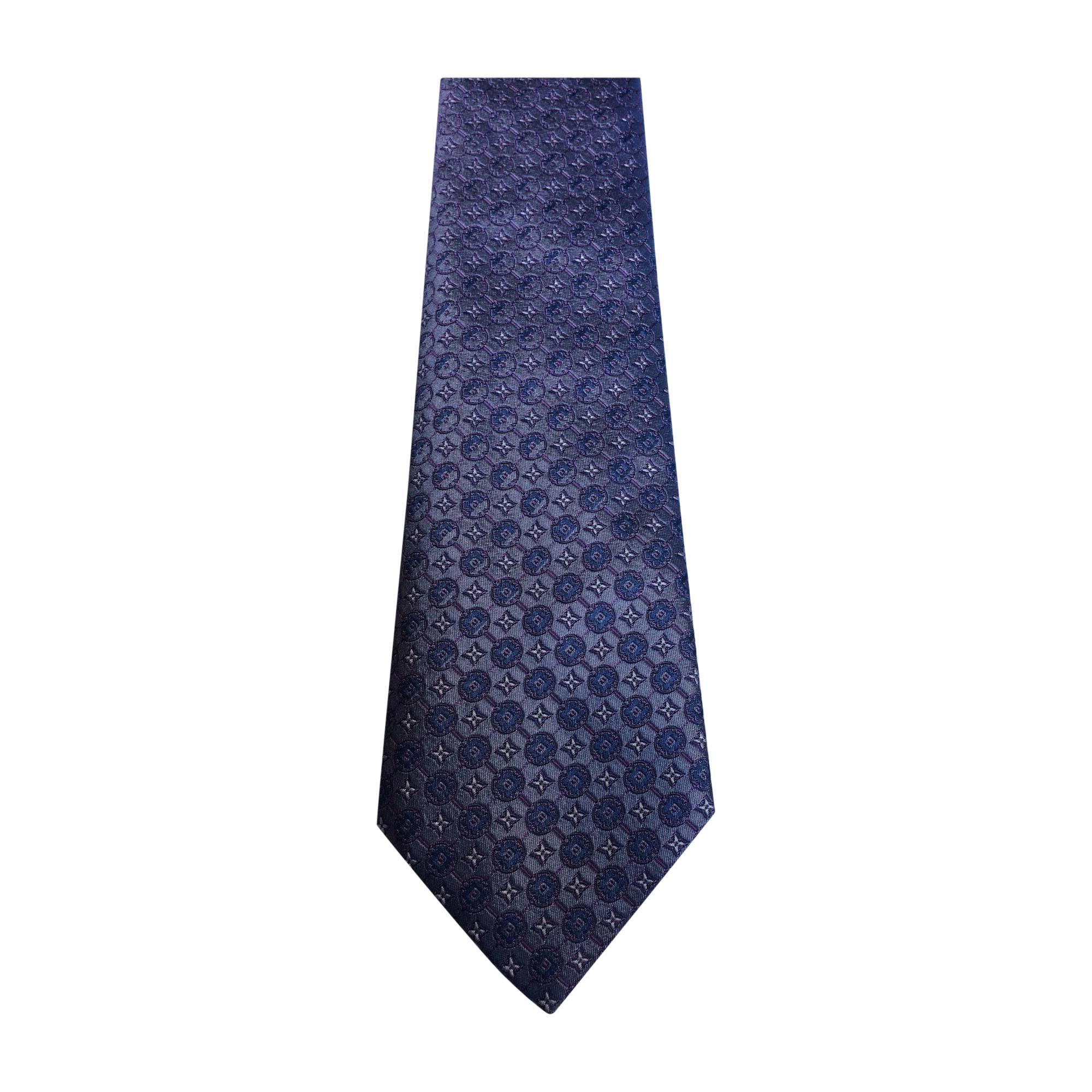 52cd52f9b42c7 Krawatte LOUIS VUITTON blau vendu par Marsur - 7327808
