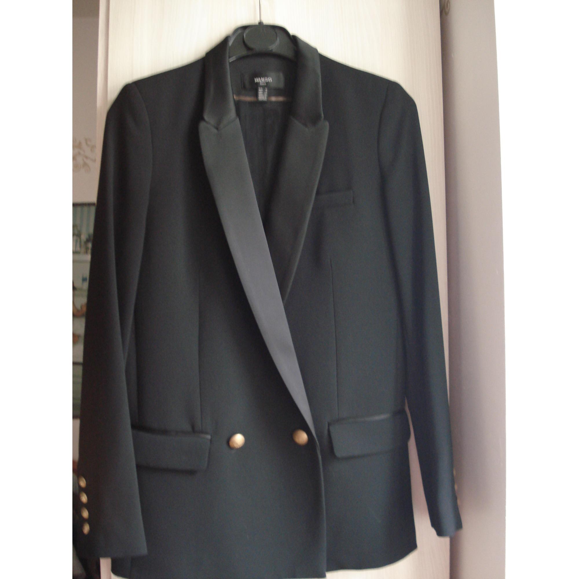 Blazer, veste tailleur MANGO 36 (S, T1) noir - 7330842 067c98b2c93c
