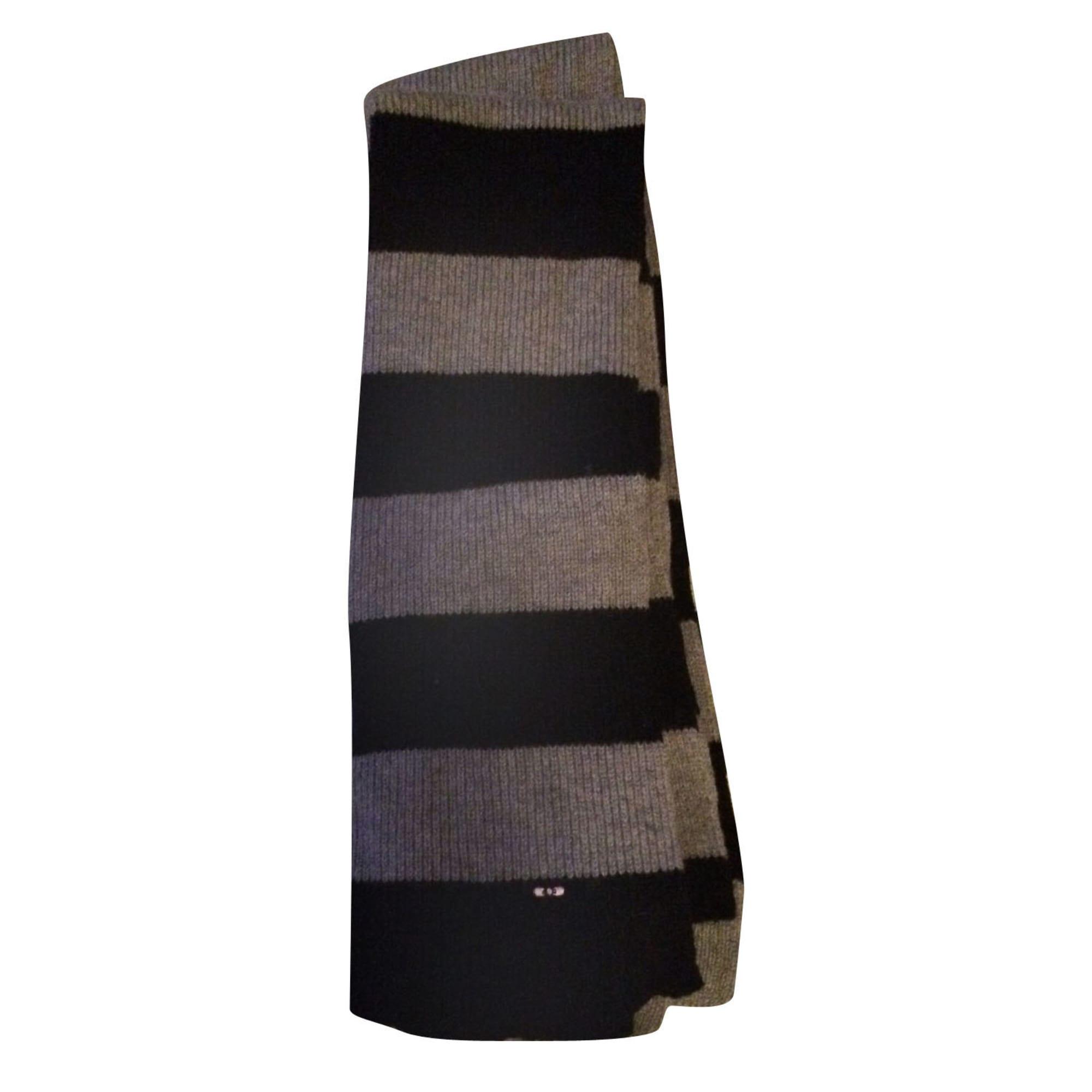 Echarpe EDEN PARK gris noir - 7332017 1df21fce61b