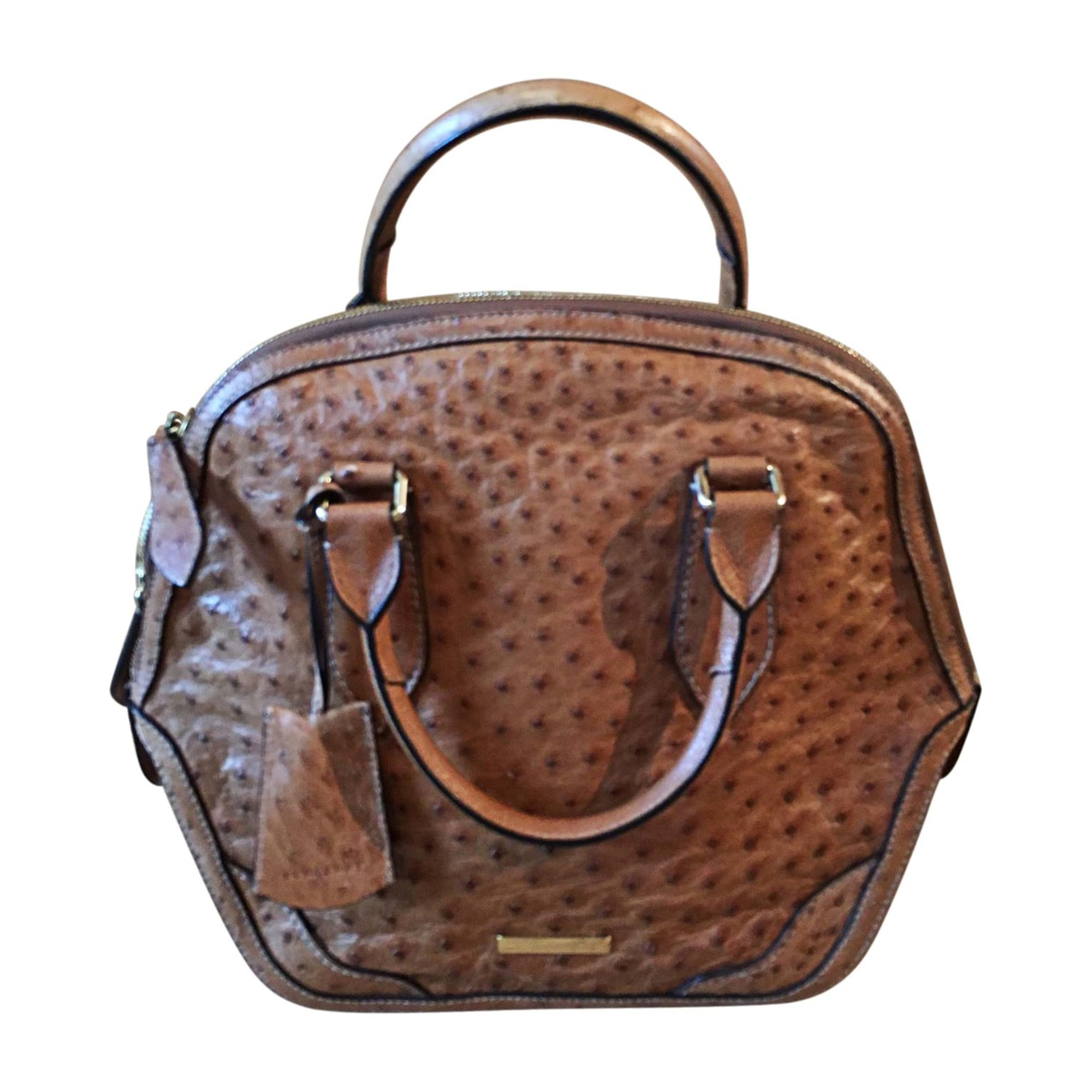 72bd6d6e99 Sac à main en cuir BURBERRY marron - 7333330
