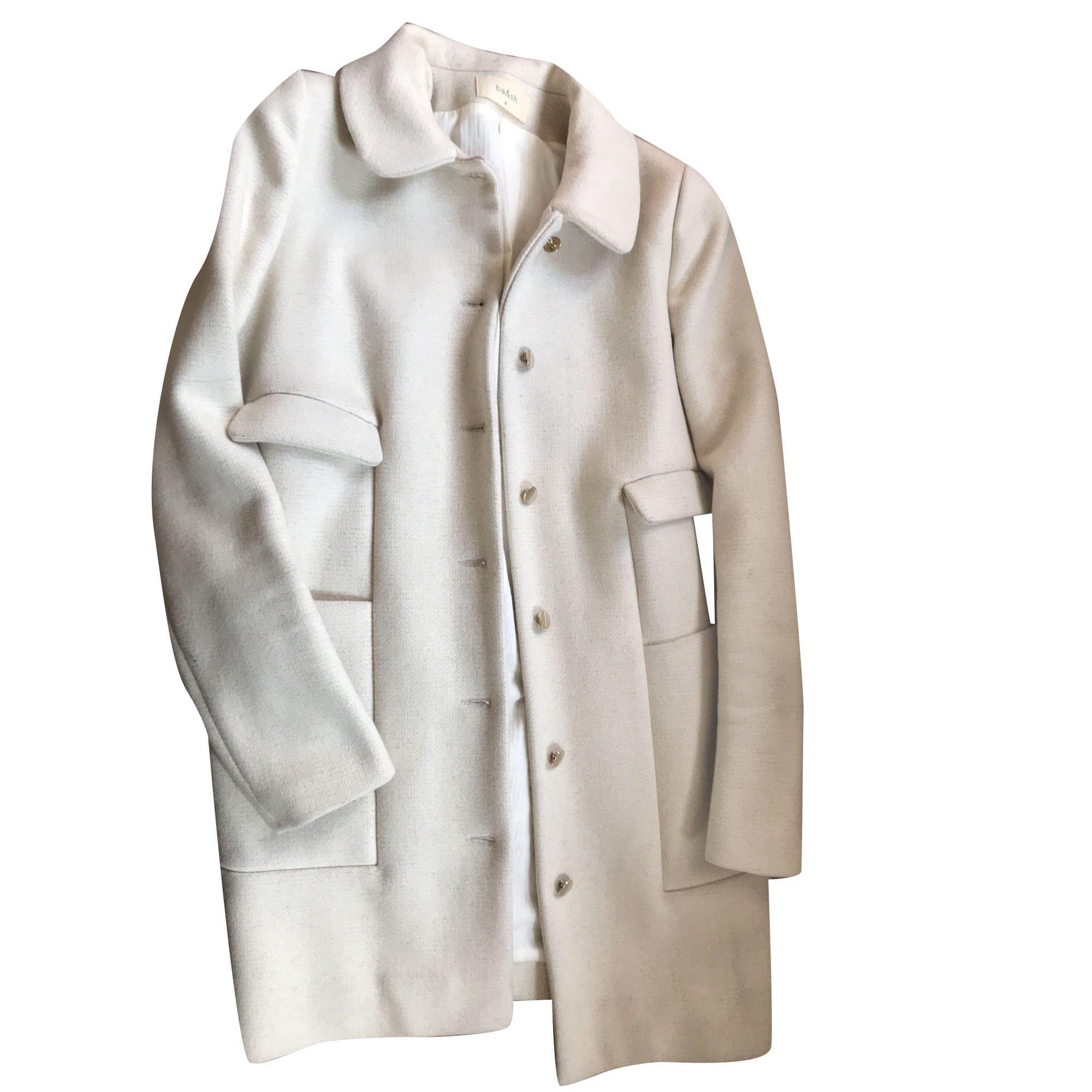 Manteau BA SH 34 (XS, T0) blanc vendu par D anne-sophie 21129260 ... cdbe06239b9