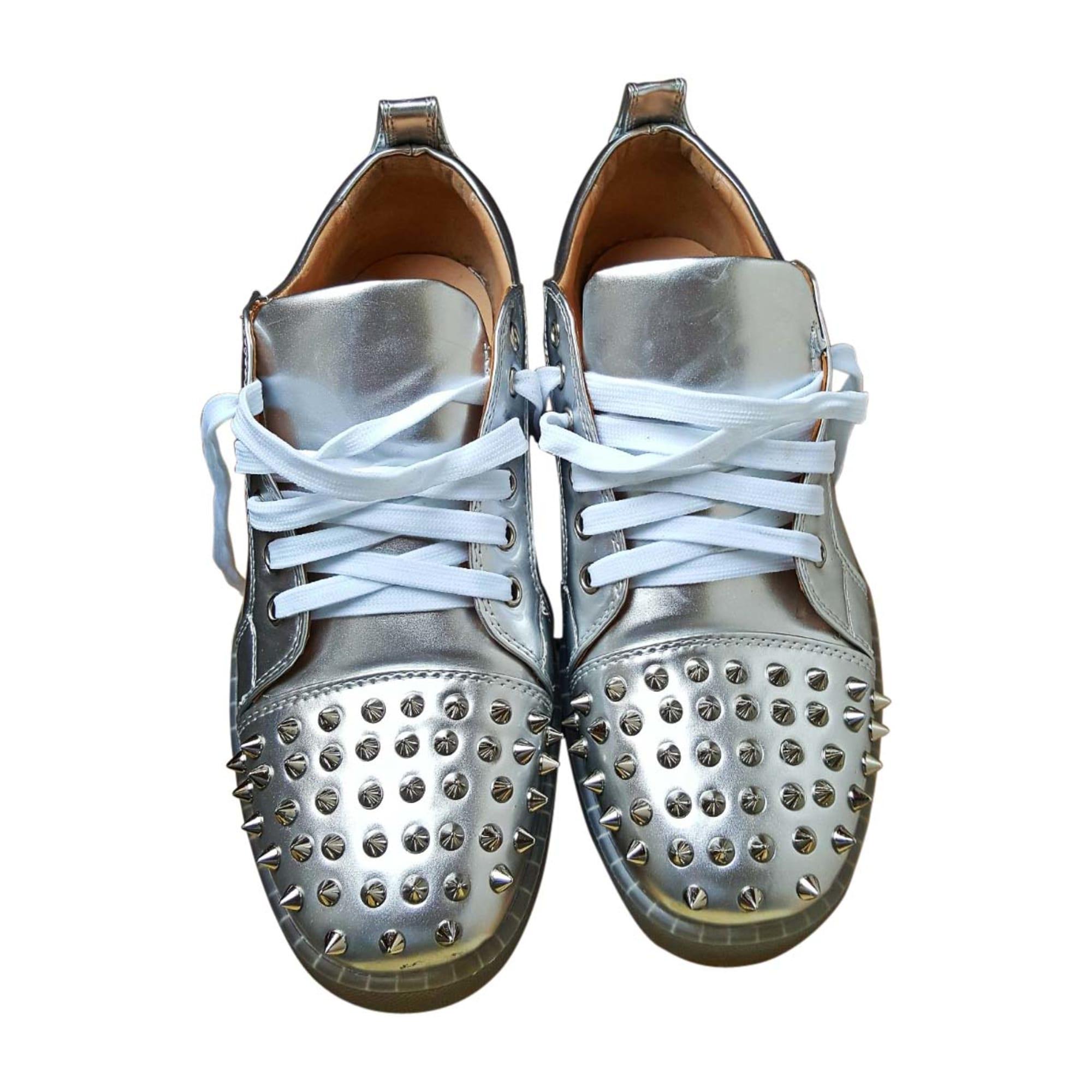 Sneakers CHRISTIAN LOUBOUTIN Grau, anthrazit
