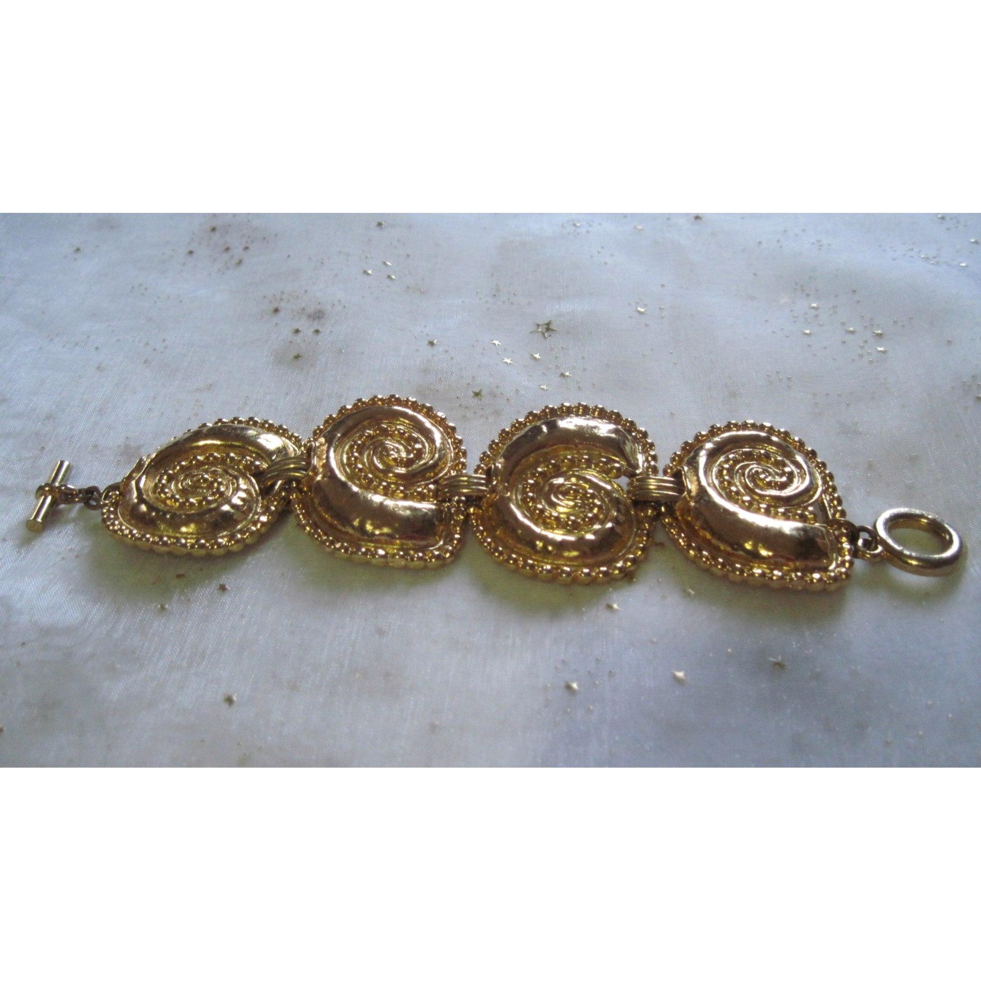 Bracelet EDOUARD RAMBAUD métal doré