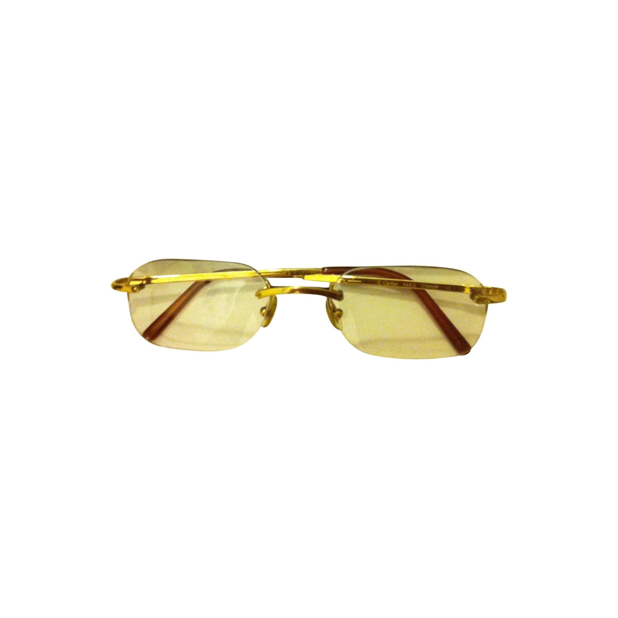 c090665b5bd396 Lunettes de soleil CARTIER doré vendu par Lilia 1177375 - 734191