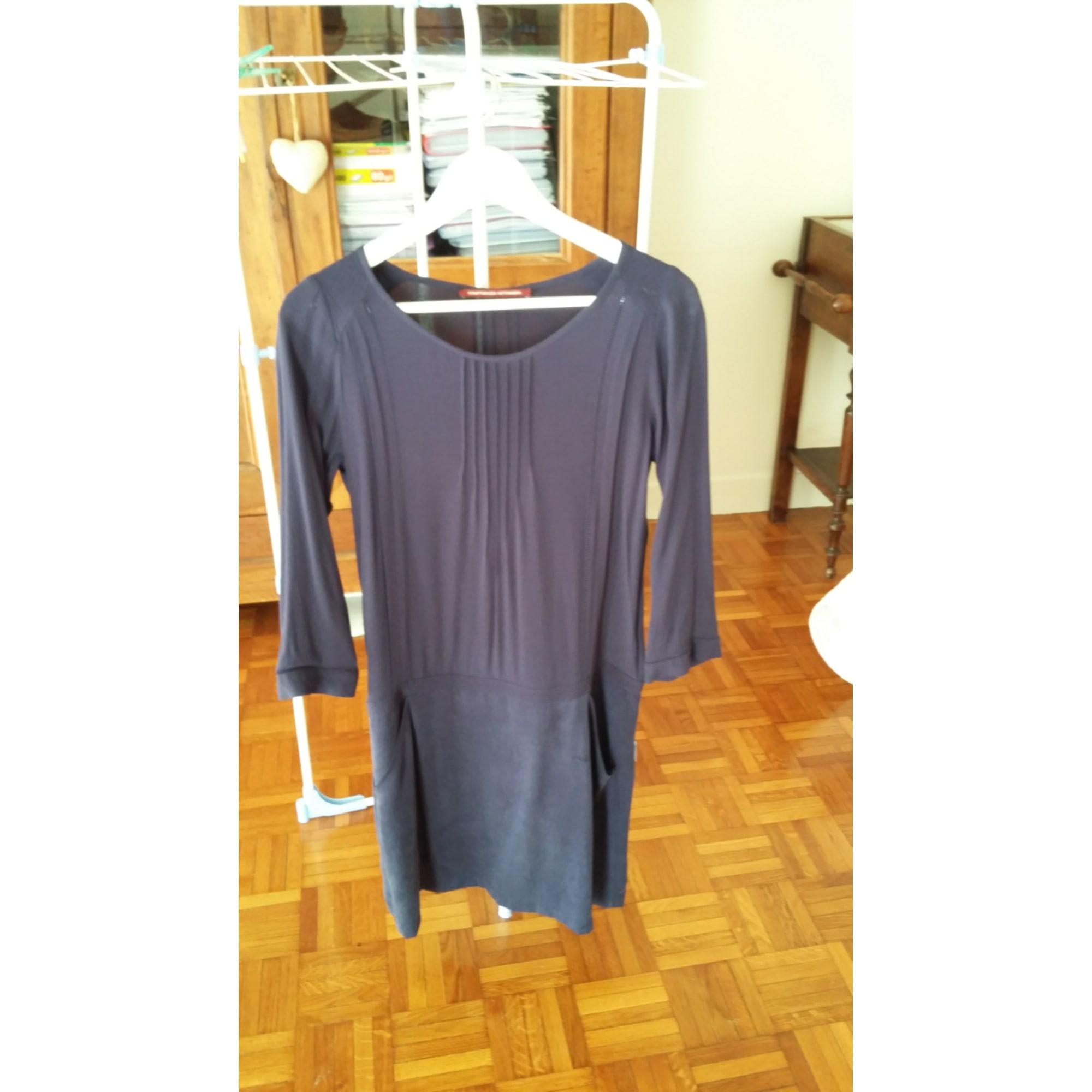 Robe T1 Des Longue 7343355 Comptoir 36 Bleu s Cotonniers 4Br4wpZnaq