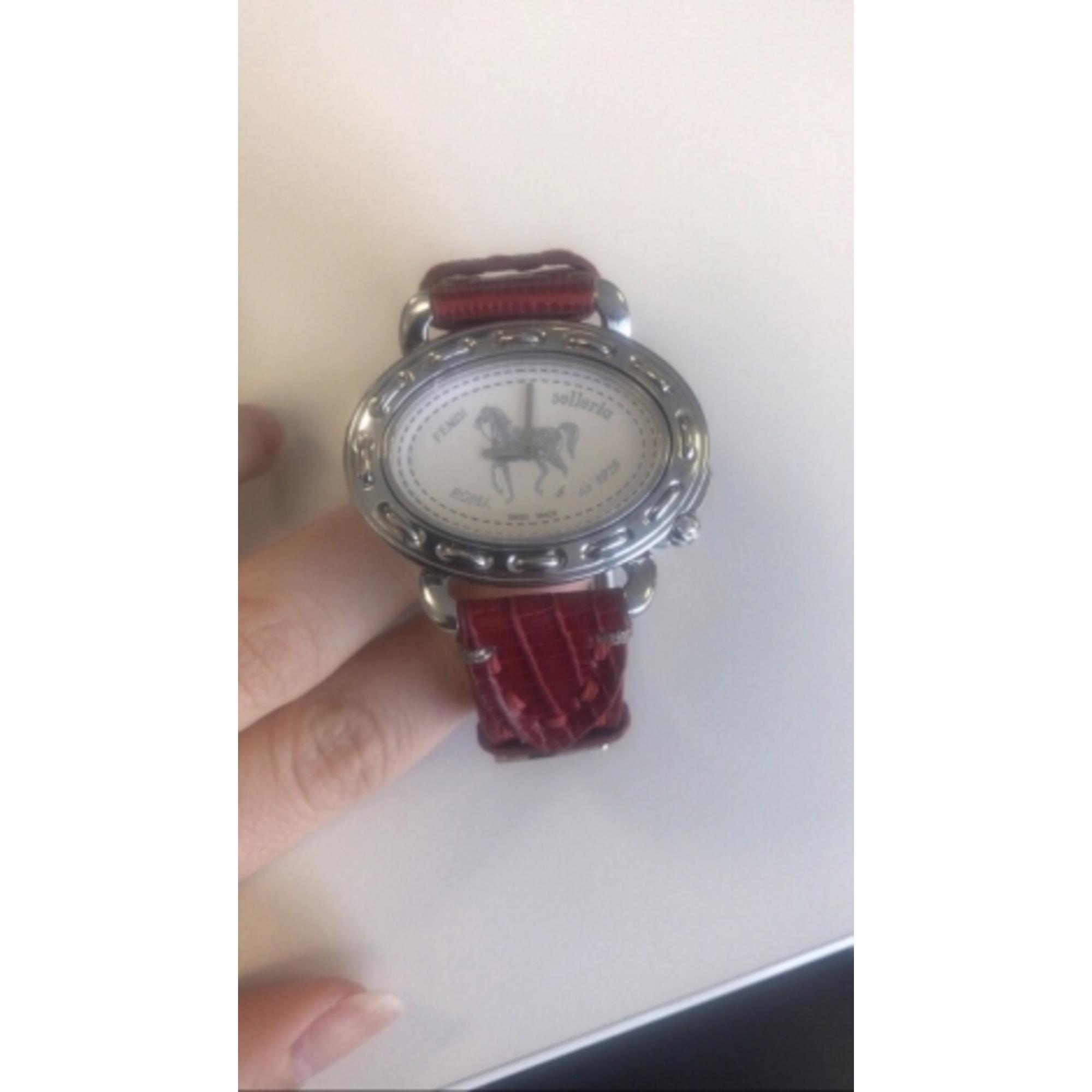 Montre au poignet FENDI rouge - 7343517 be305de0a32