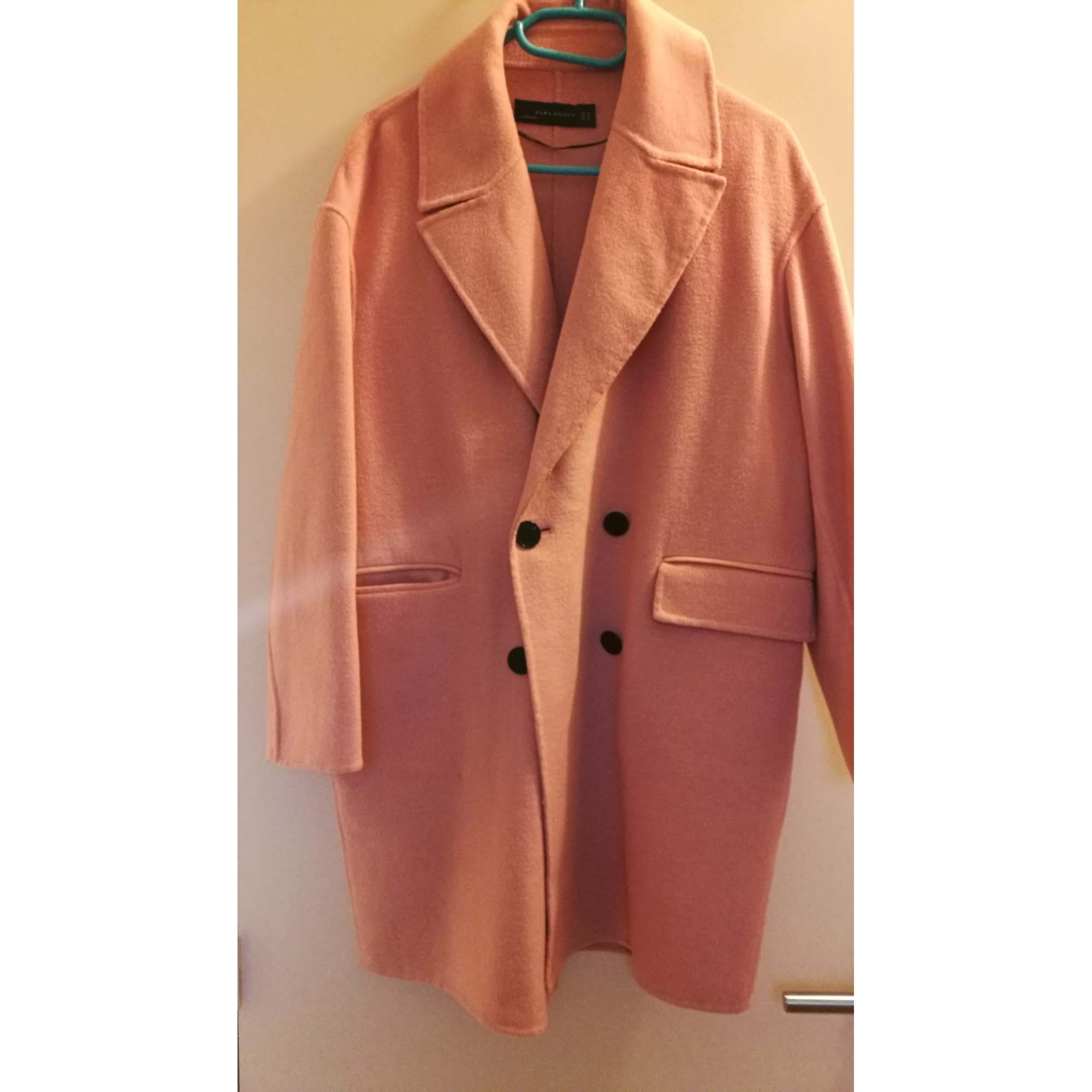 beige zara zara beige manteau manteau laine laine 2Y9IEDHW