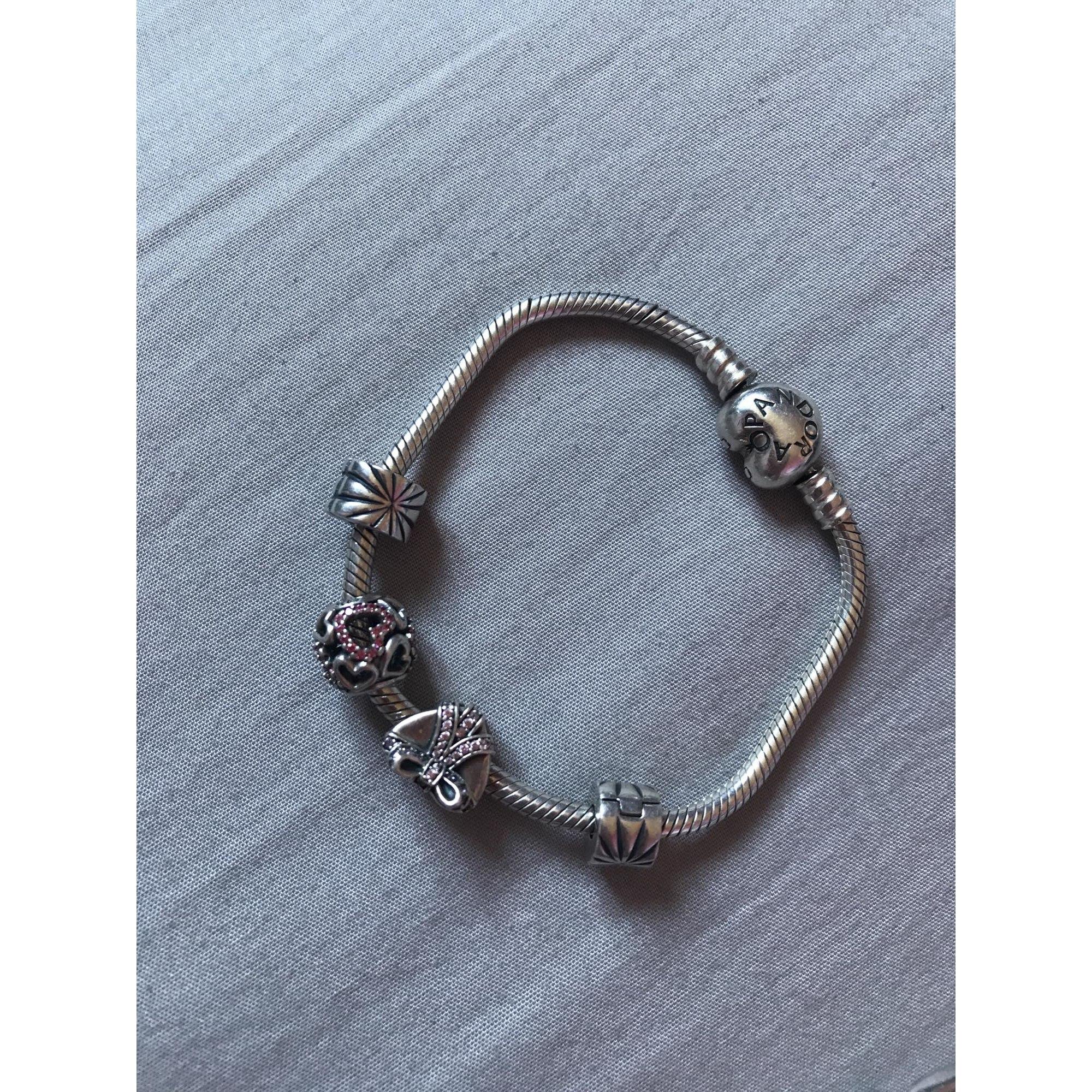 bracelet pandora gris