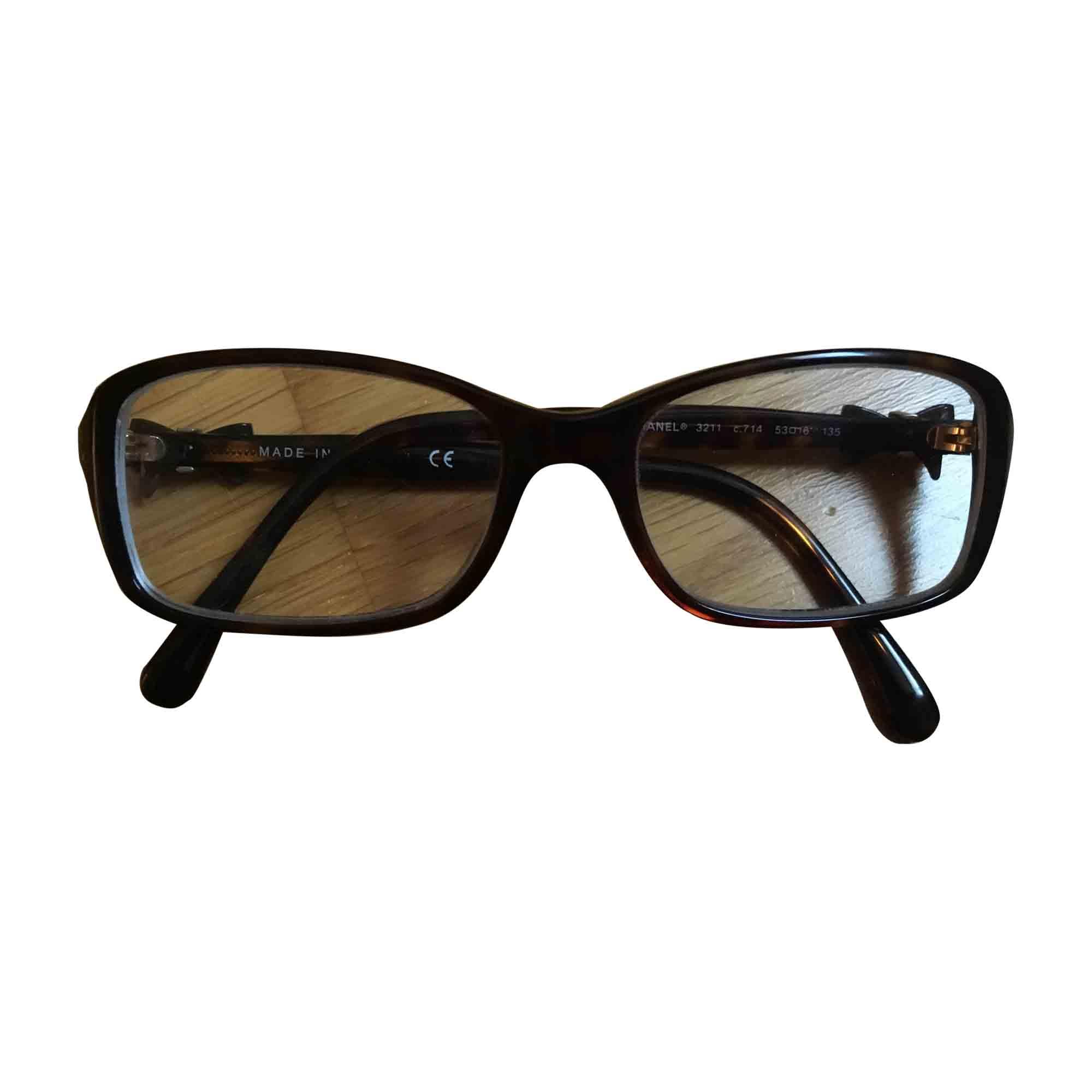 e47fc0cec43dc5 Monture de lunettes CHANEL marron - 7354600