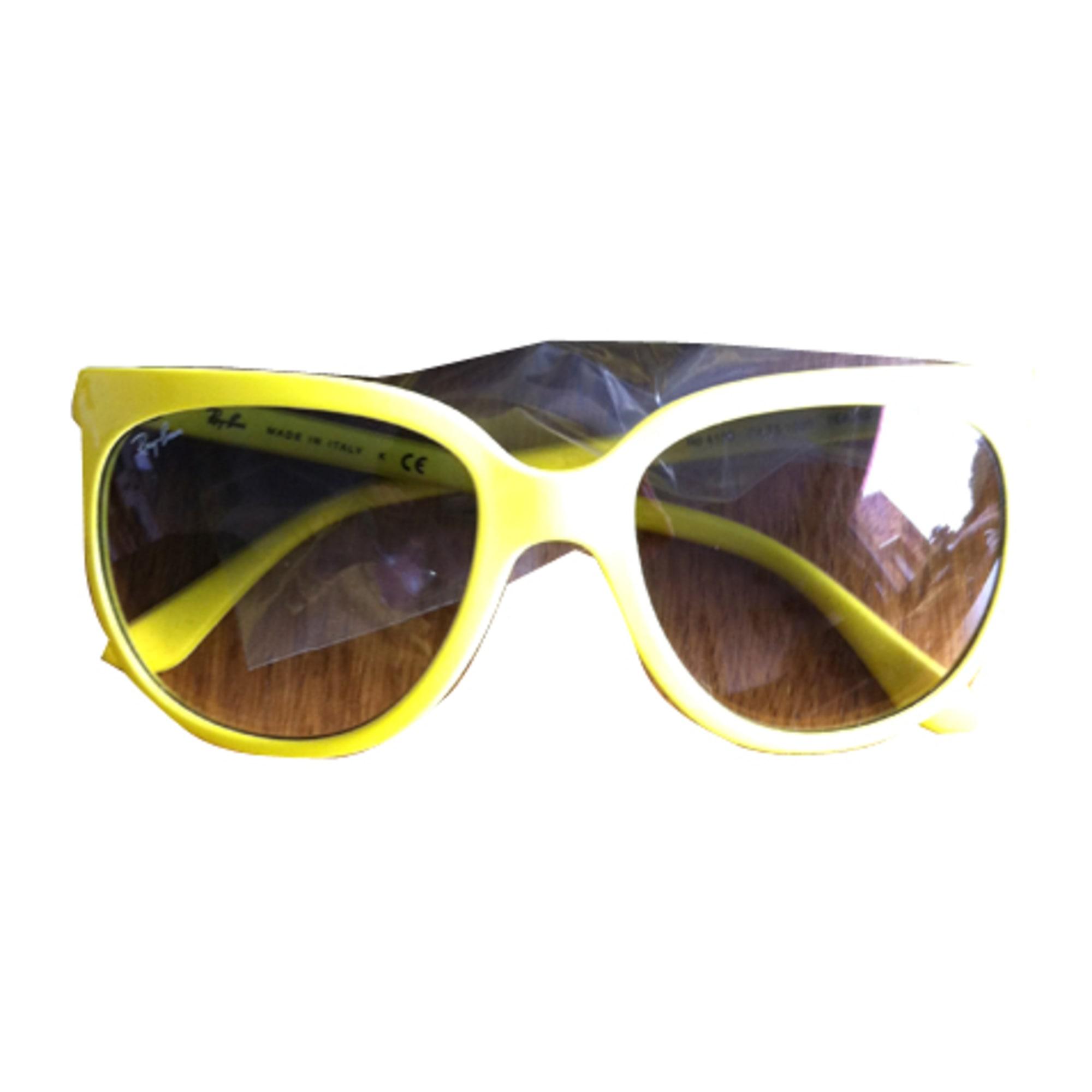 Lunettes de soleil RAY-BAN jaune vendu par Karl, marc et john108293 ... 405030705221