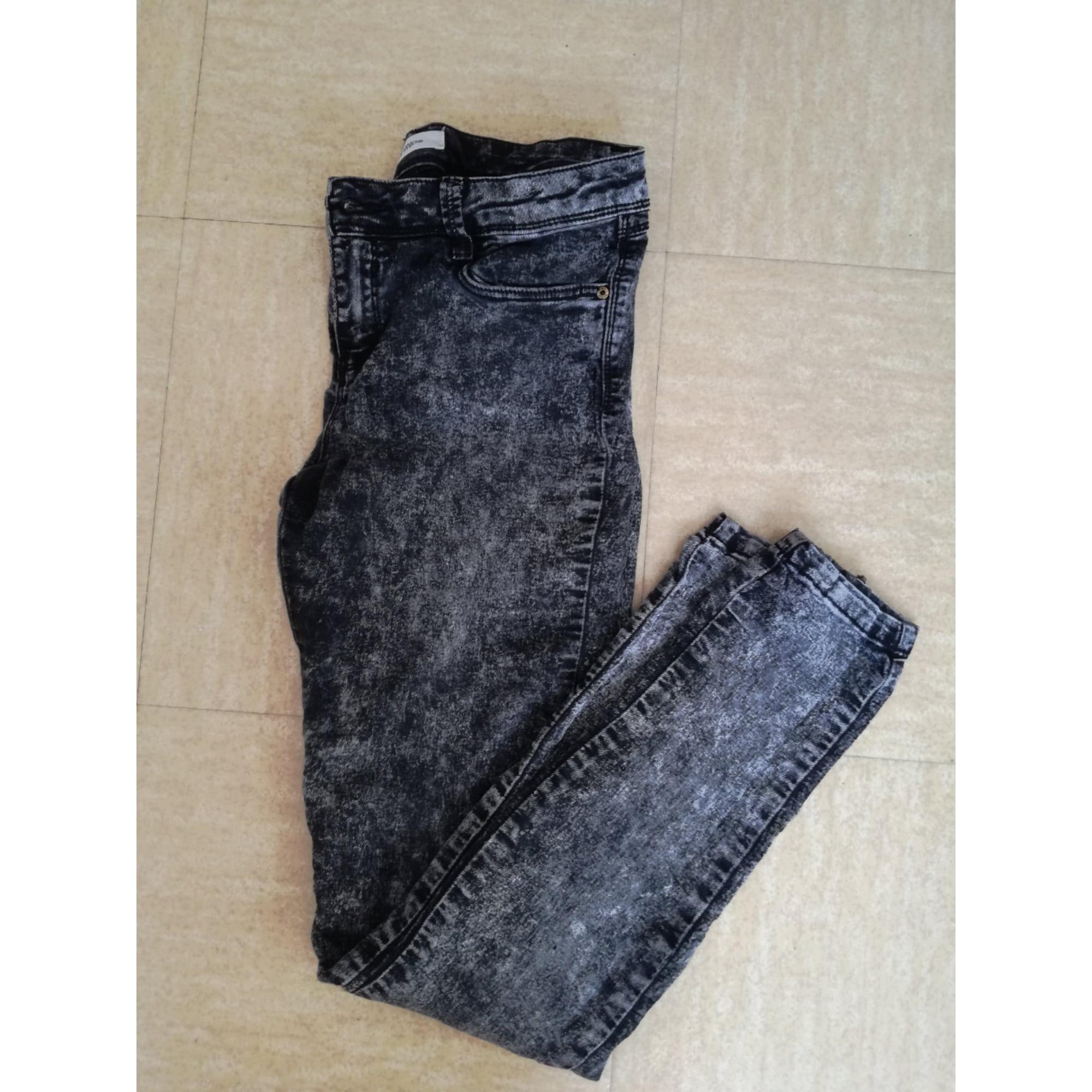 24c557a2843c Jeans slim PIMKIE W29 (T 38-40) noir - 7360129