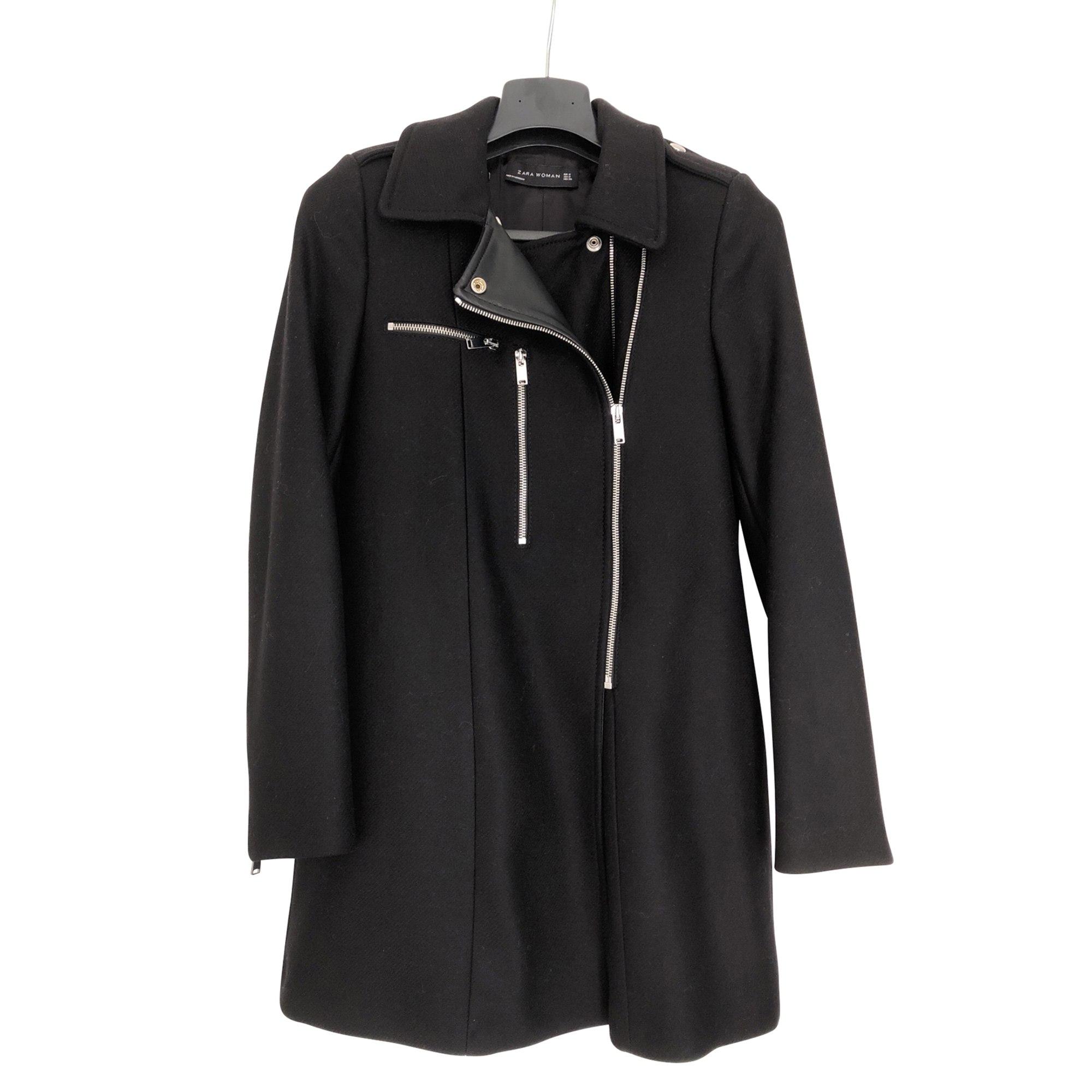 Manteaux et vestes Zara en laine Taille 36 pour femme