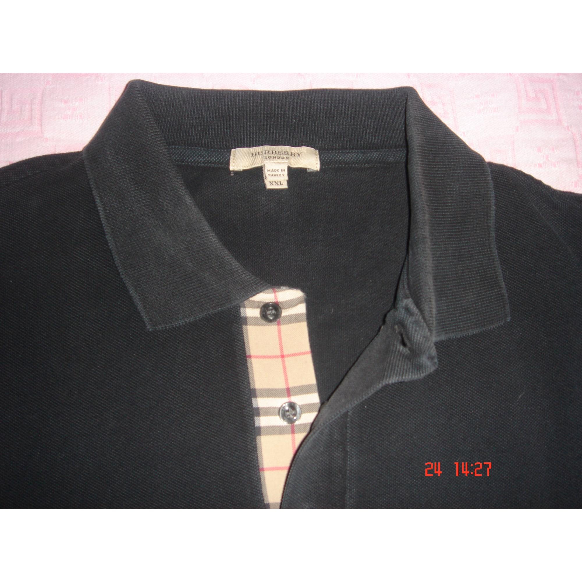 49a144fa0180 Polo BURBERRY 4 (XL) noir vendu par Christina61683 - 7361698