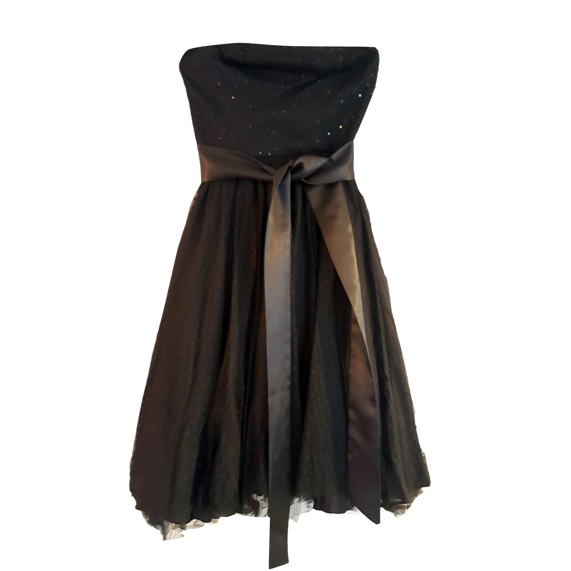 Robe noir alain manoukian