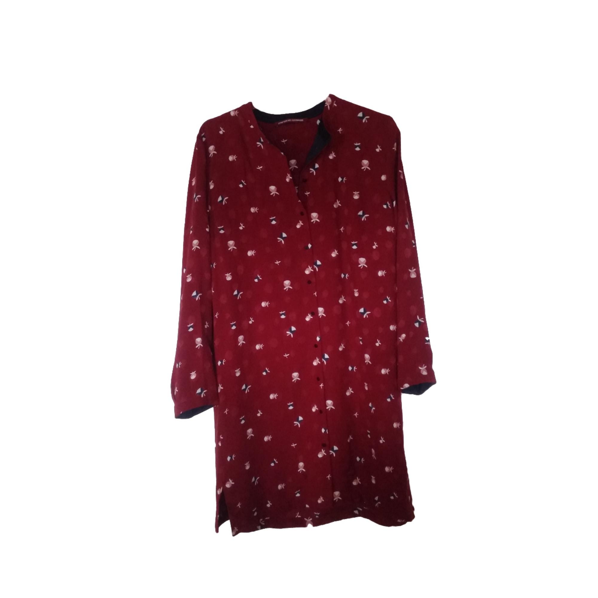 Robe tunique comptoir des cotonniers 38 m t2 rouge vendu par marie 25574 7371214 - Tunique comptoir des cotonniers ...