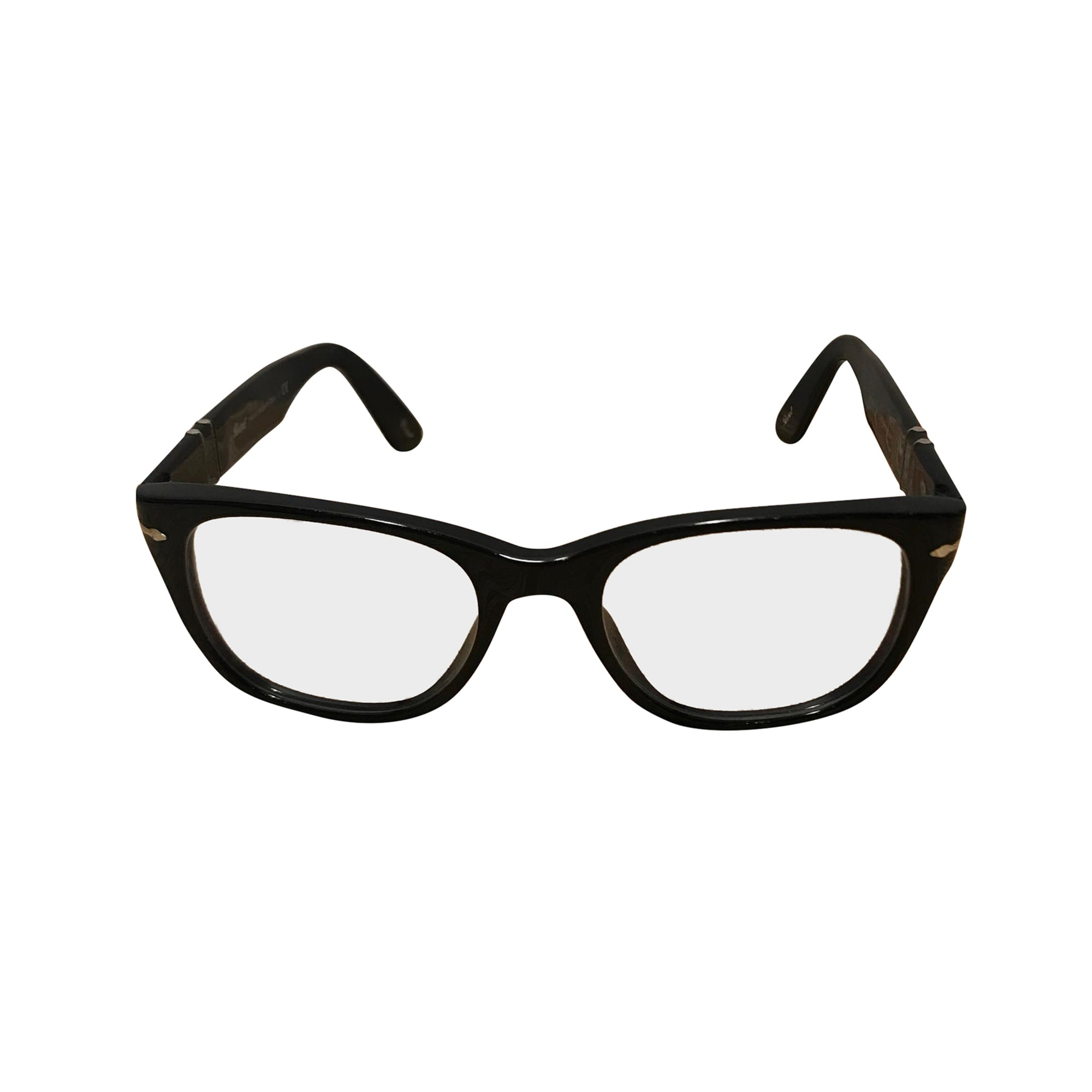 744a6f66ce6 Monture de lunettes PERSOL noir - 7374929